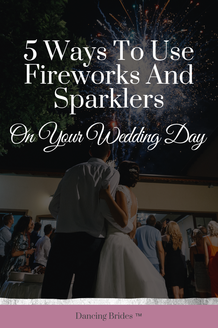 Looking for fun ways to use fireworks and sparklers on your wedding day?  Find unique ideas to light up your night at dancingbrides.com