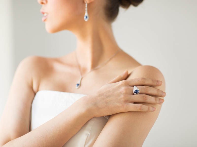 Looking for ideas for your something blue?  Wearing a special ring, earrings, necklace or bracelet with a blue stone or accent will make a nice keepsake after your big day.  Find more ideas at dancingbrides.com
