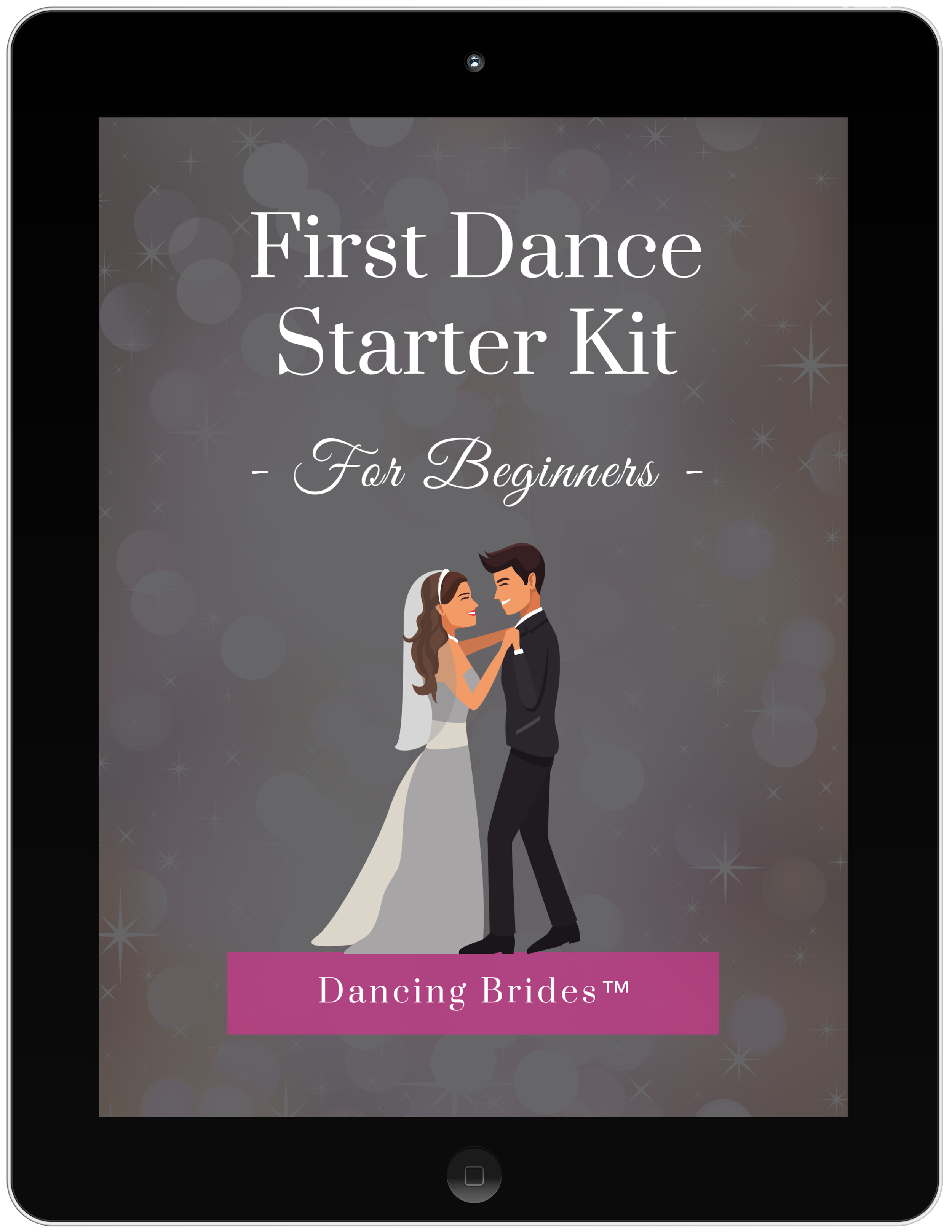 Get my First Dance Starter Kit to improve your skills and feel more confident dancing with your partner so you can rock the reception dance floor!!