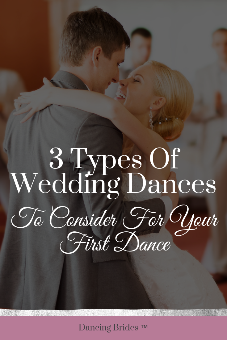 When it comes to your first dance, it's important to know that you have options.  I have three types of wedding dances for you to consider at dancingbrides.com