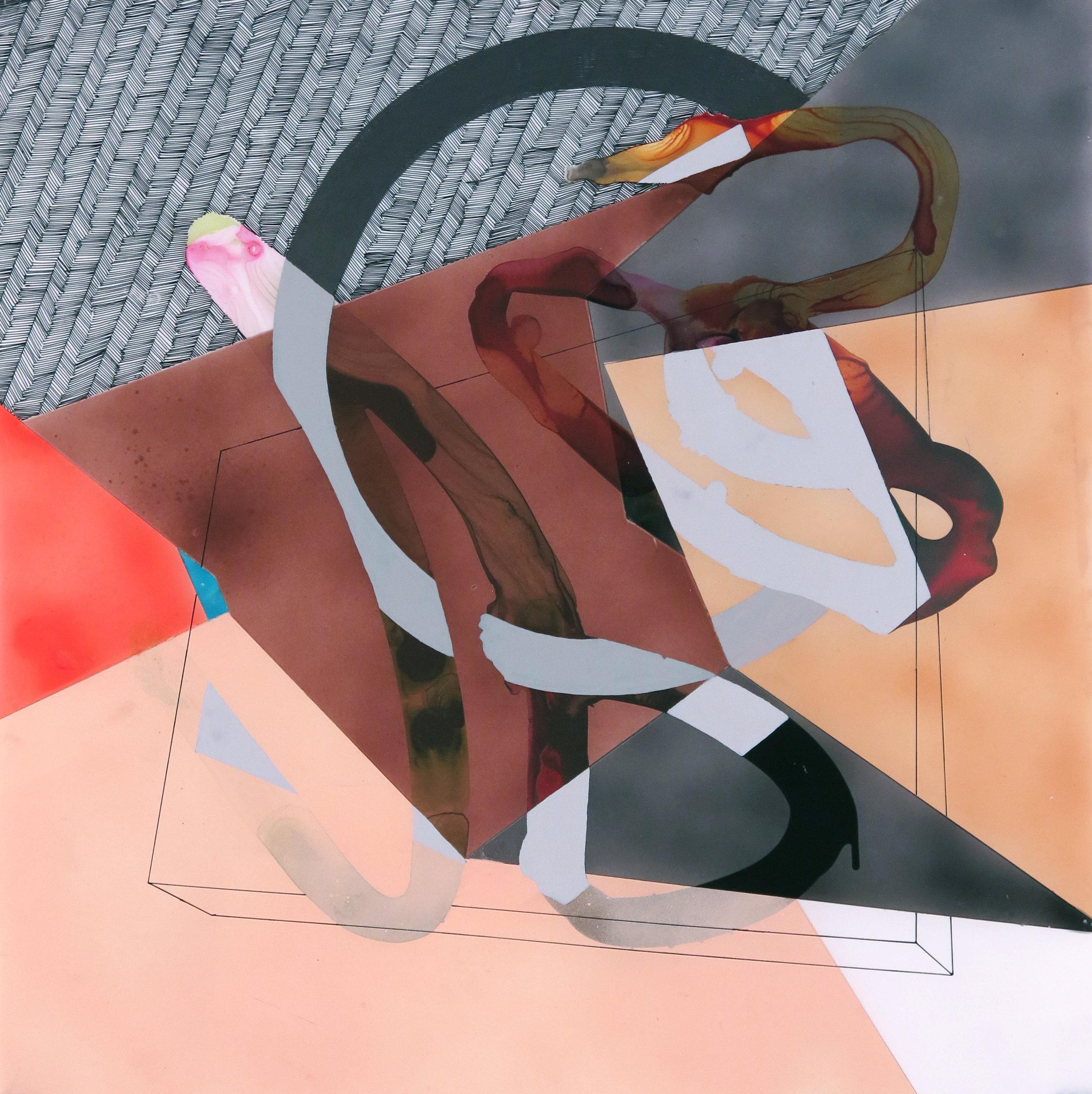 Poetics of a Hidden Geometric Plane, XXVII