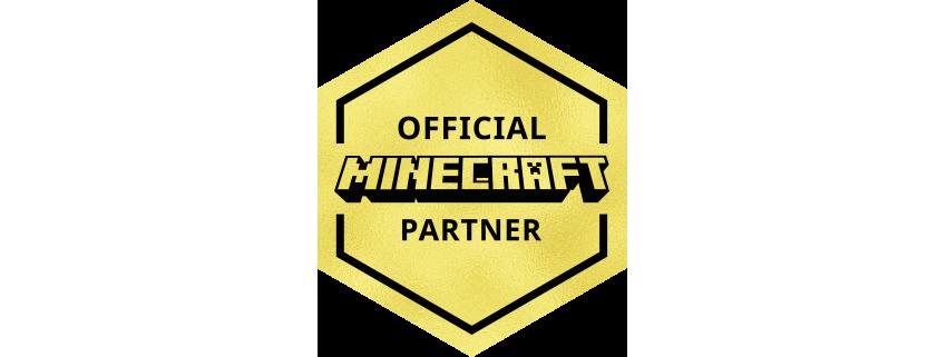 Official Minecraft Partner Badge Mediumwide.png