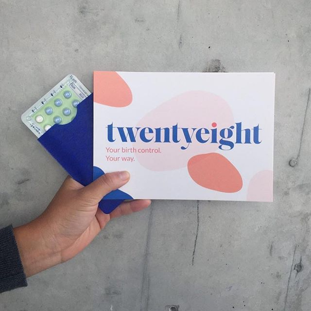 New brand for @twentyeighthealth the most convenient access to birth control & health advice. The future is here! Check the process in our stories