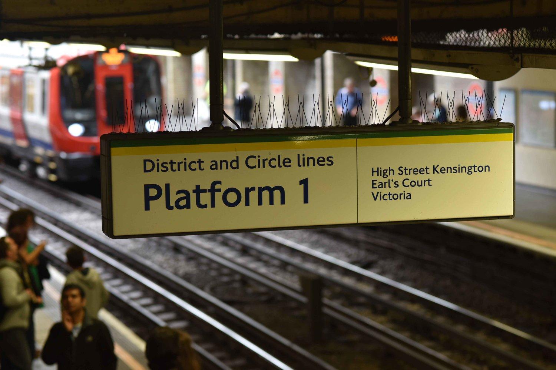 London underground, London, U.K. Image©thingstodot.com