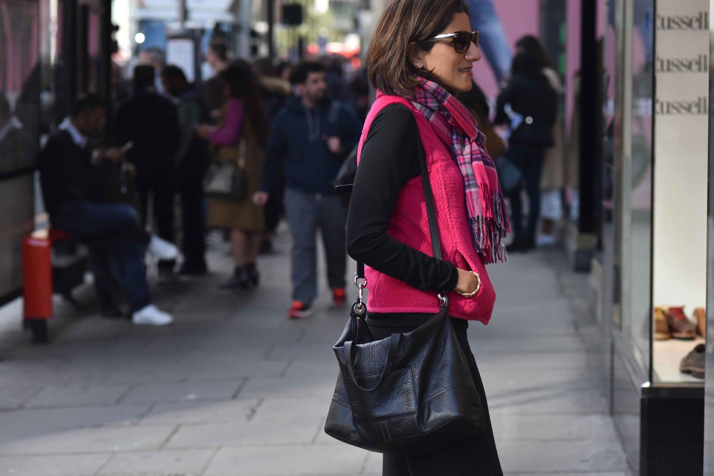 Street style, London, Knightsbridge. Photo credit: Alizeh Latif Image©thingstodot.com
