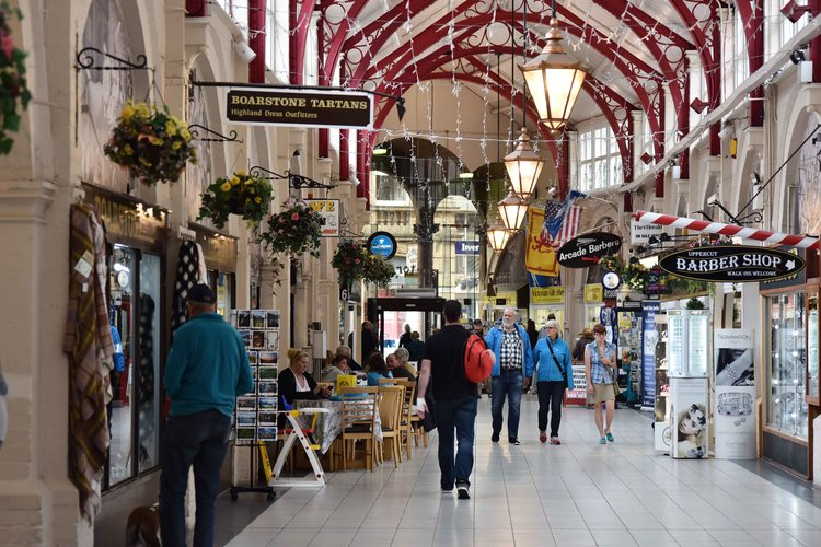 Victoria Market,Inverness, Scotland. Image©thingstodot.com