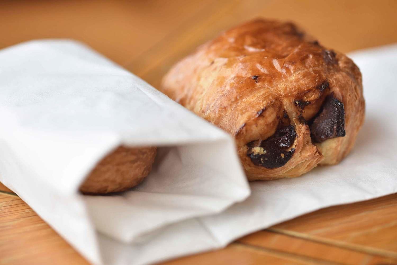 Chocolate croissants, breakfast buffet, Mercure hotel, Inverness, Scotland. Image©thingstodot.com