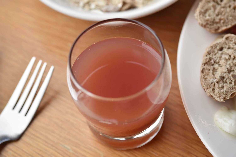 Juice at breakfast buffet, Mercure hotel, Inverness, Scotland. Image©thingstodot.com