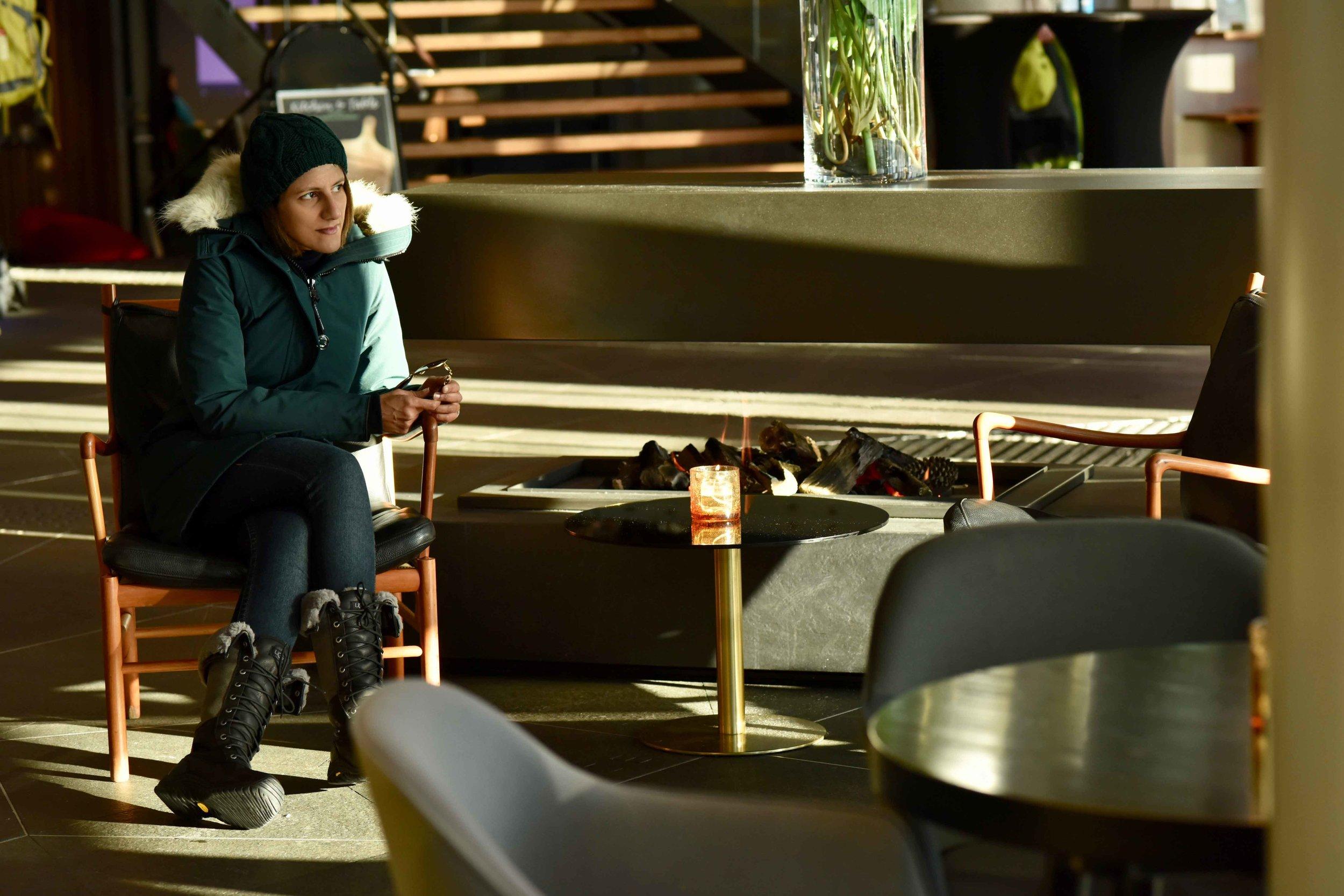 Lobby,Clarion Hotel the Edge, Tromso, Norway.Photo: Lisa Varotto.Image©thingstodot.com