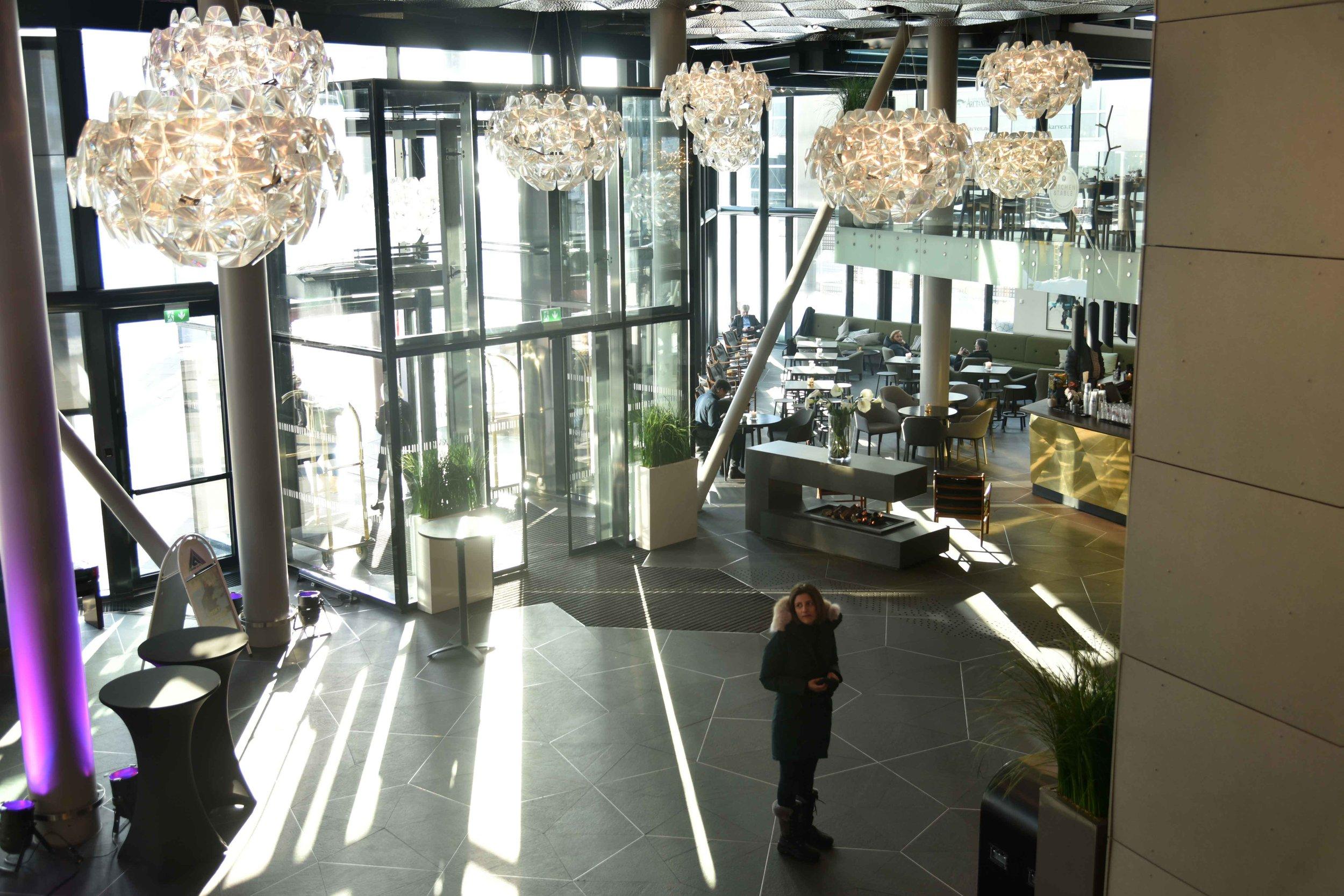 Clarion Hotel the Edge, Tromso, Norway. Photo: Lisa Varotto. Image©thingstodot.com
