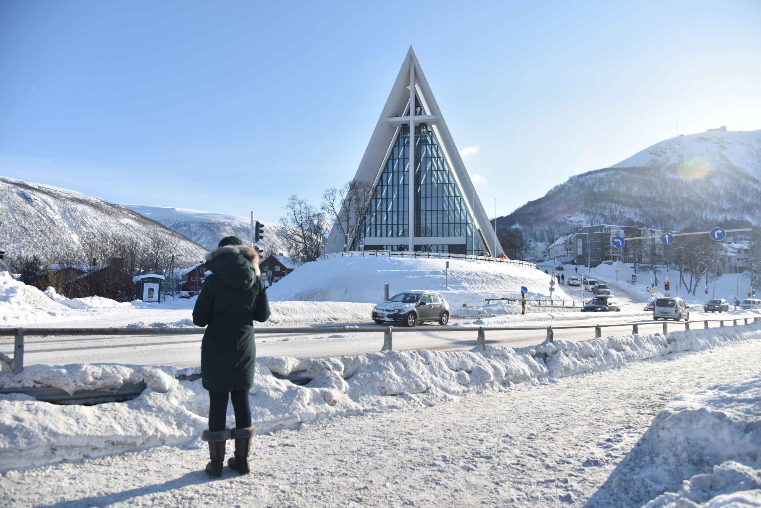 Arctic Cathedral, Tromso, Norway. Photo: Lisa Varotto. Image©thingstodot.com