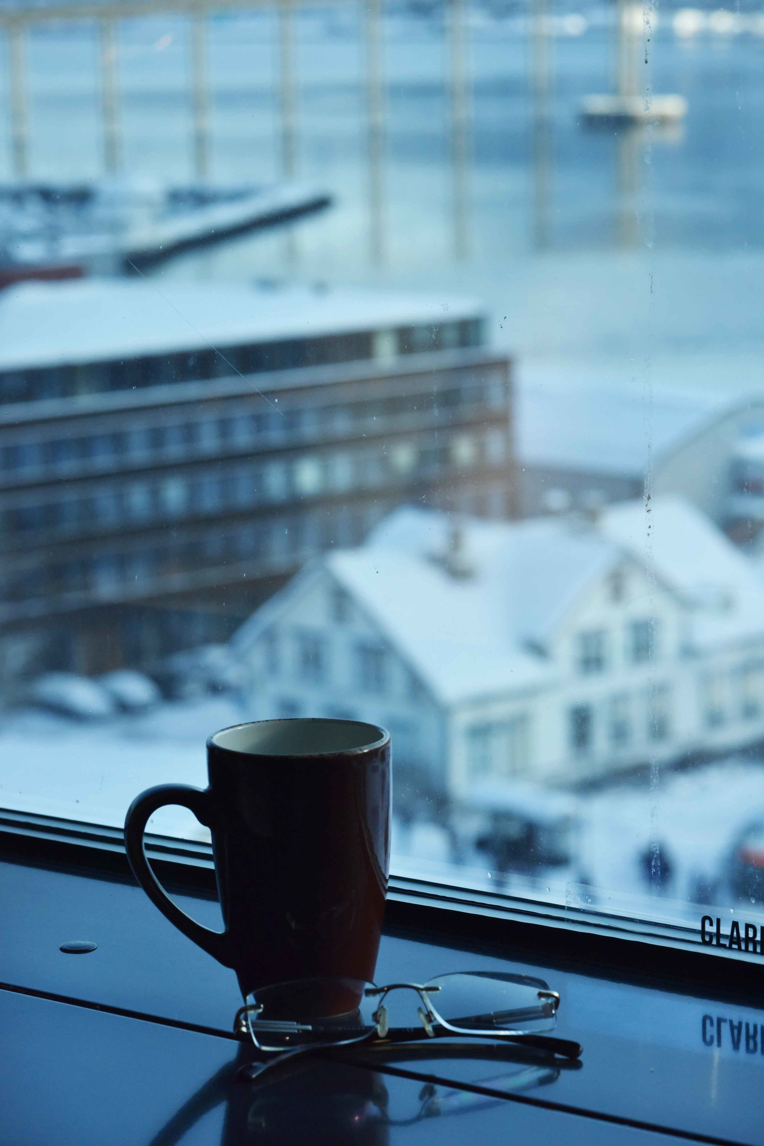 Views from the room,Clarion Hotel the Edge, Tromso, Norway.Image©thingstodot.com
