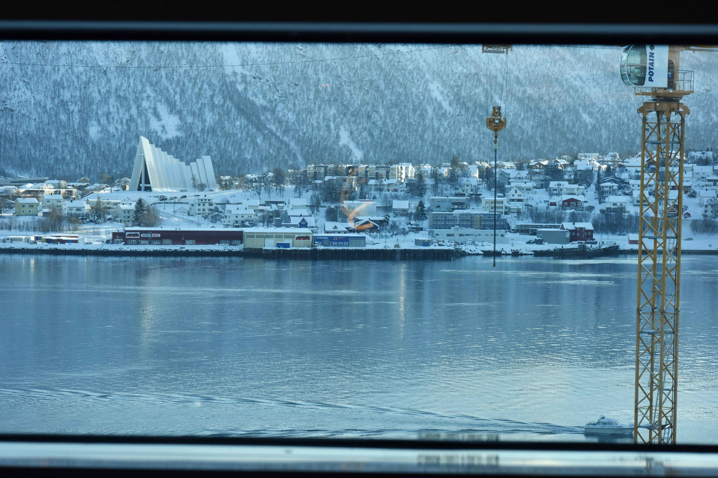 Clarion Hotel the Edge, Tromso, Norway, view from the suite. Image©thingstodot.com