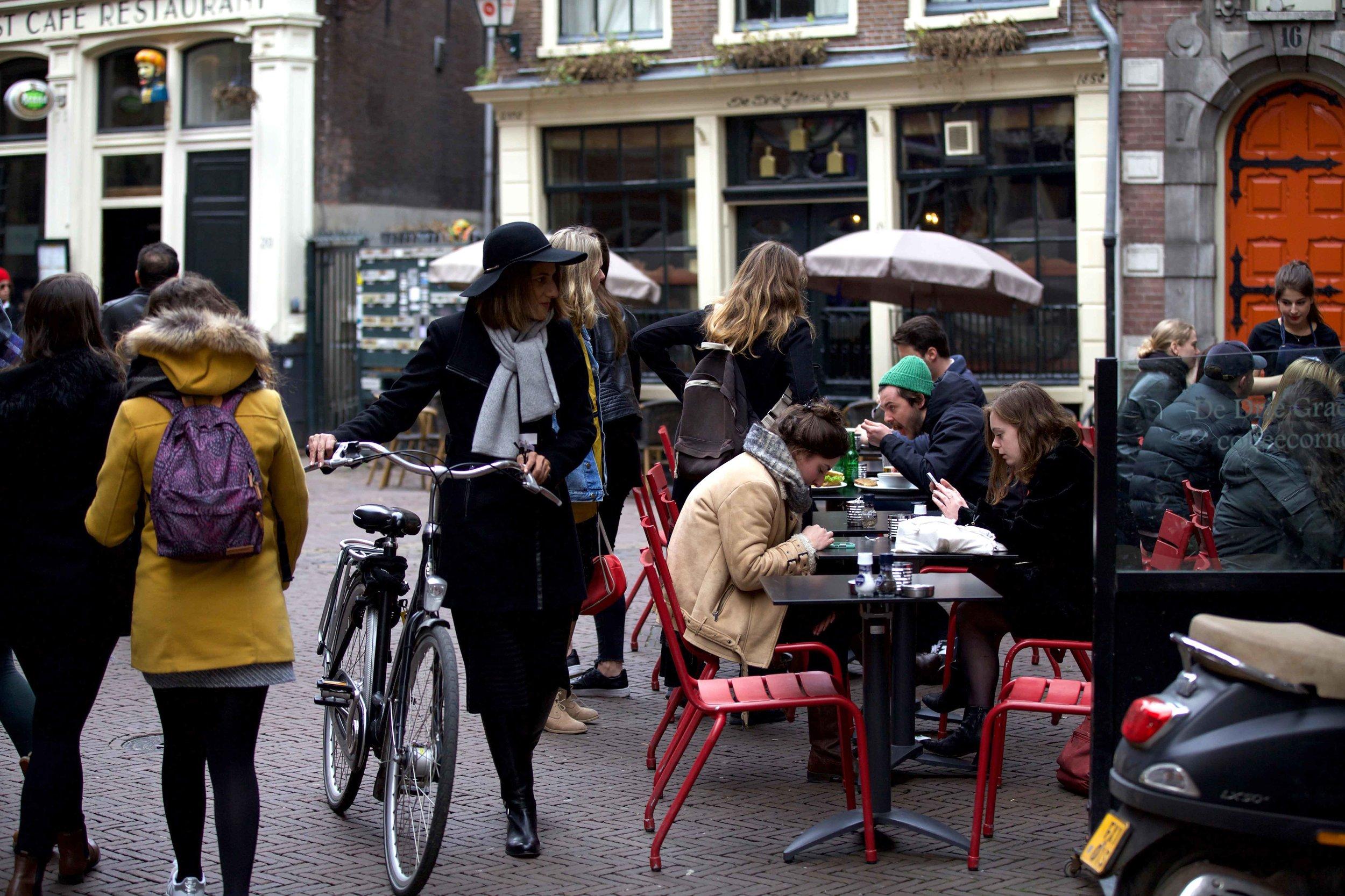 De Drie Graefjes, Dam Square, Amsterdam. Photo: Fabio Ricci. Image©thingstodot.com