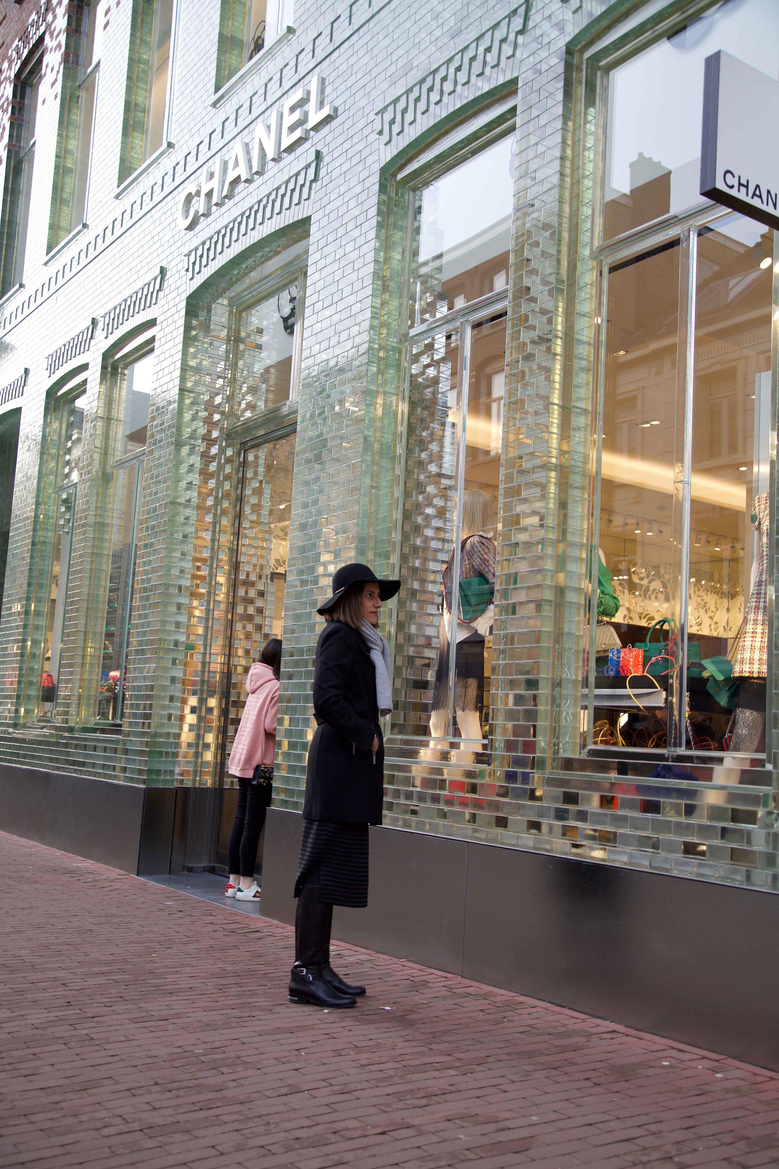 Chanel,Luxury shopping,PC Hooftstraat,Amsterdam. Photo: Fabio Ricci. Image©thingstodot.com