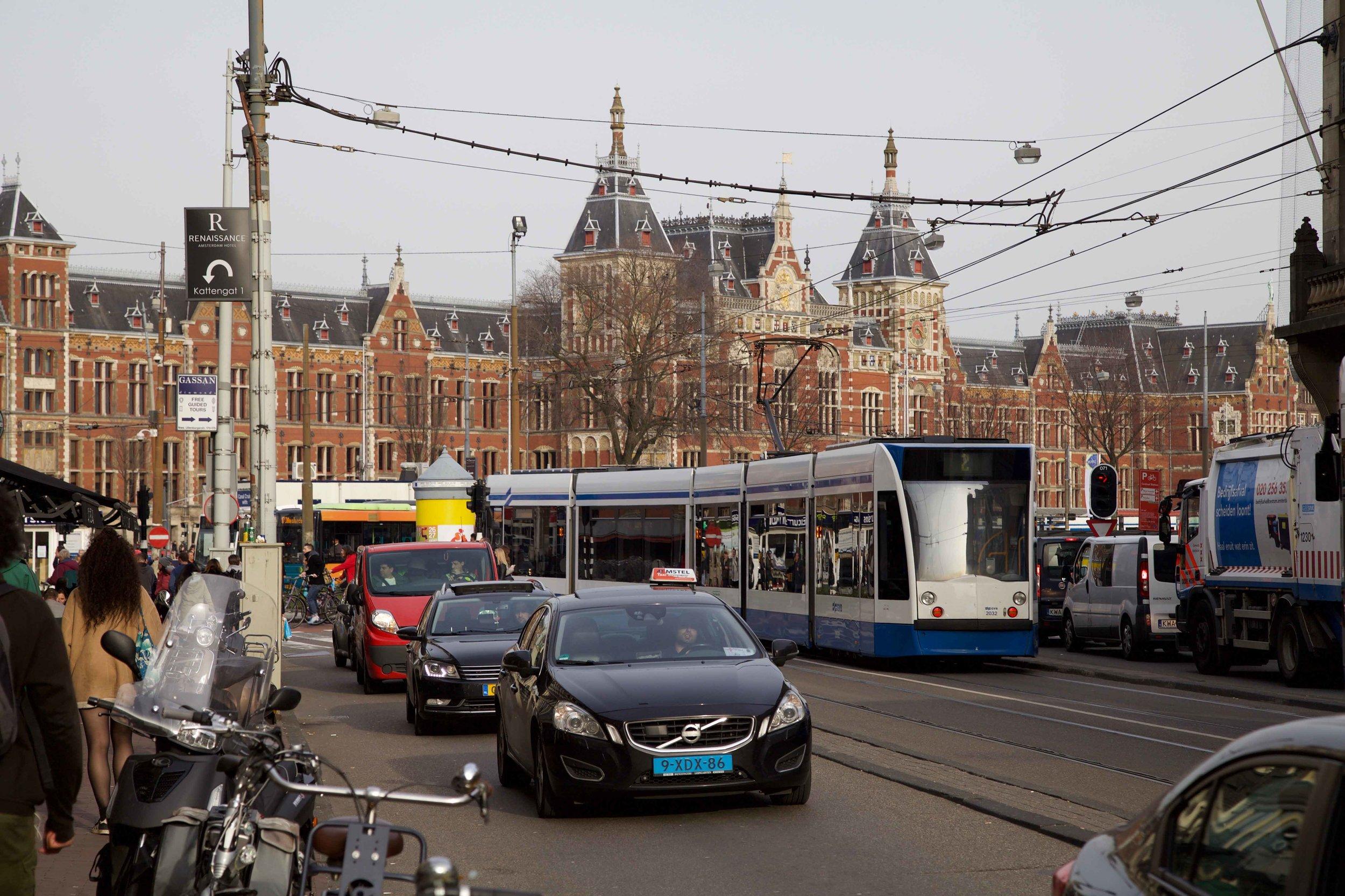 Amsterdam central station,Amsterdam. Photo: Fabio Ricci. Image©thingstodot.com