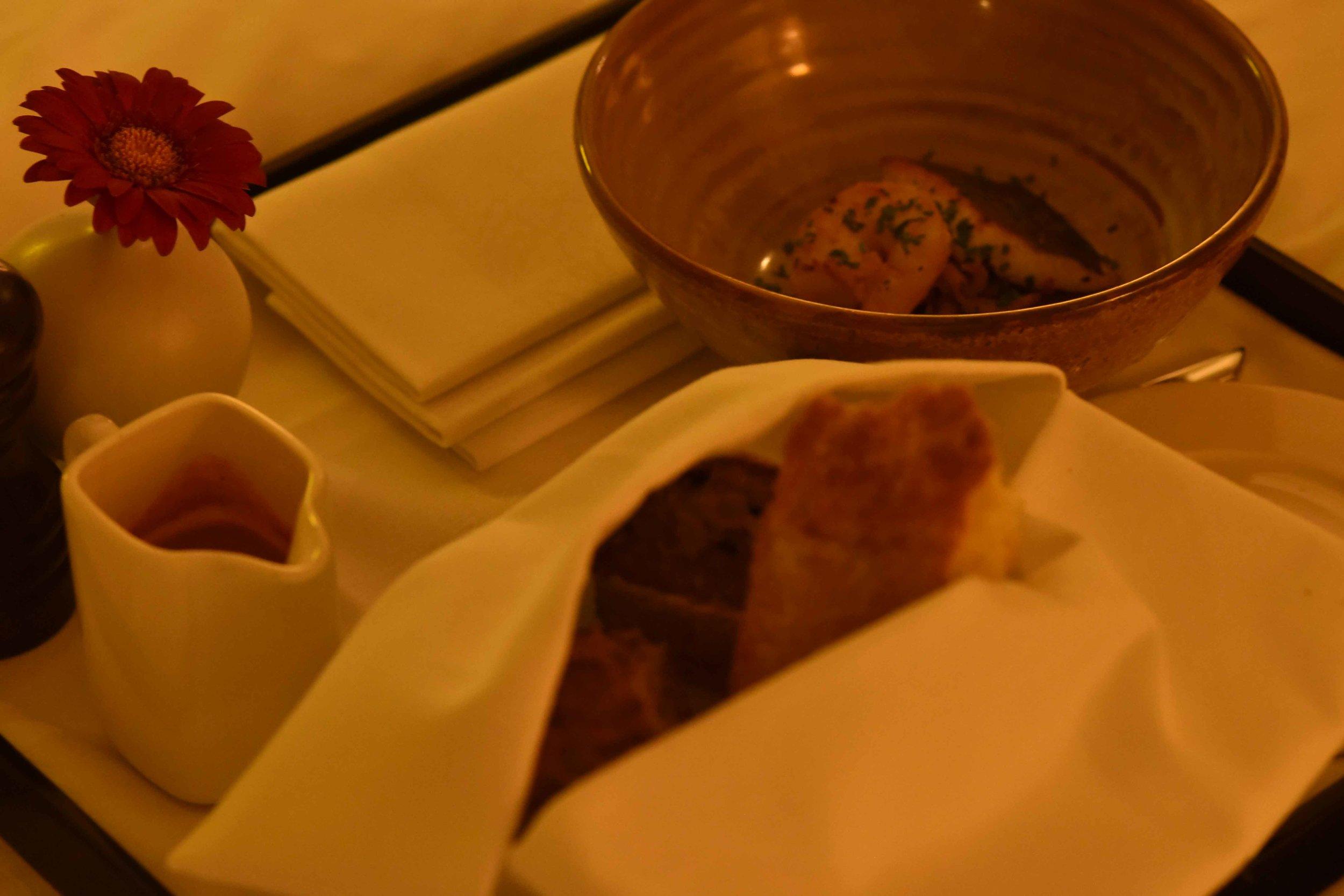 In-room dining,Sofitel Legend Amsterdam The Grand. Image©thingstodot.com