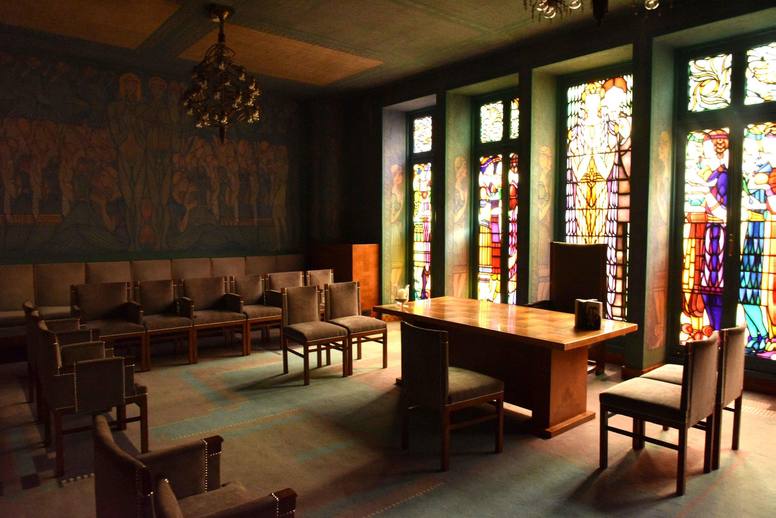 Marriage Chamber,Sofitel Legend Amsterdam The Grand. Image©thingstodot.com