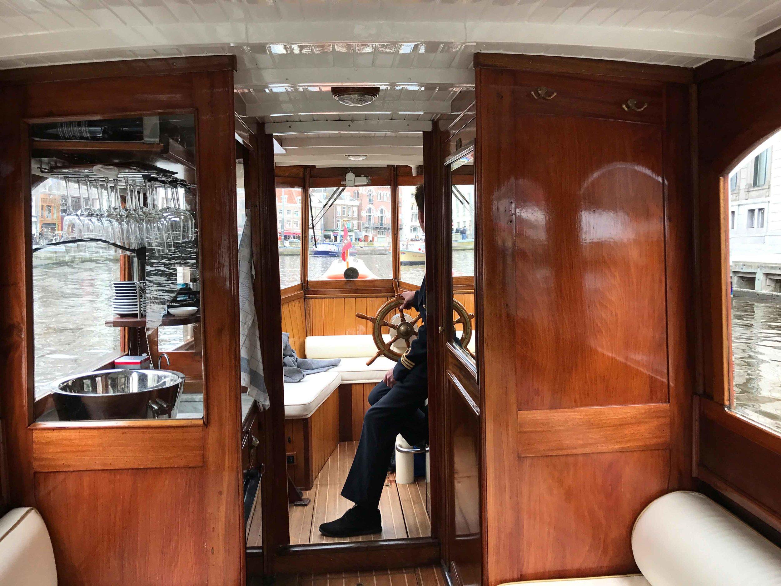 Grand Boat Tour, Sofitel Legend Amsterdam The Grand. Image©thingstodot.com