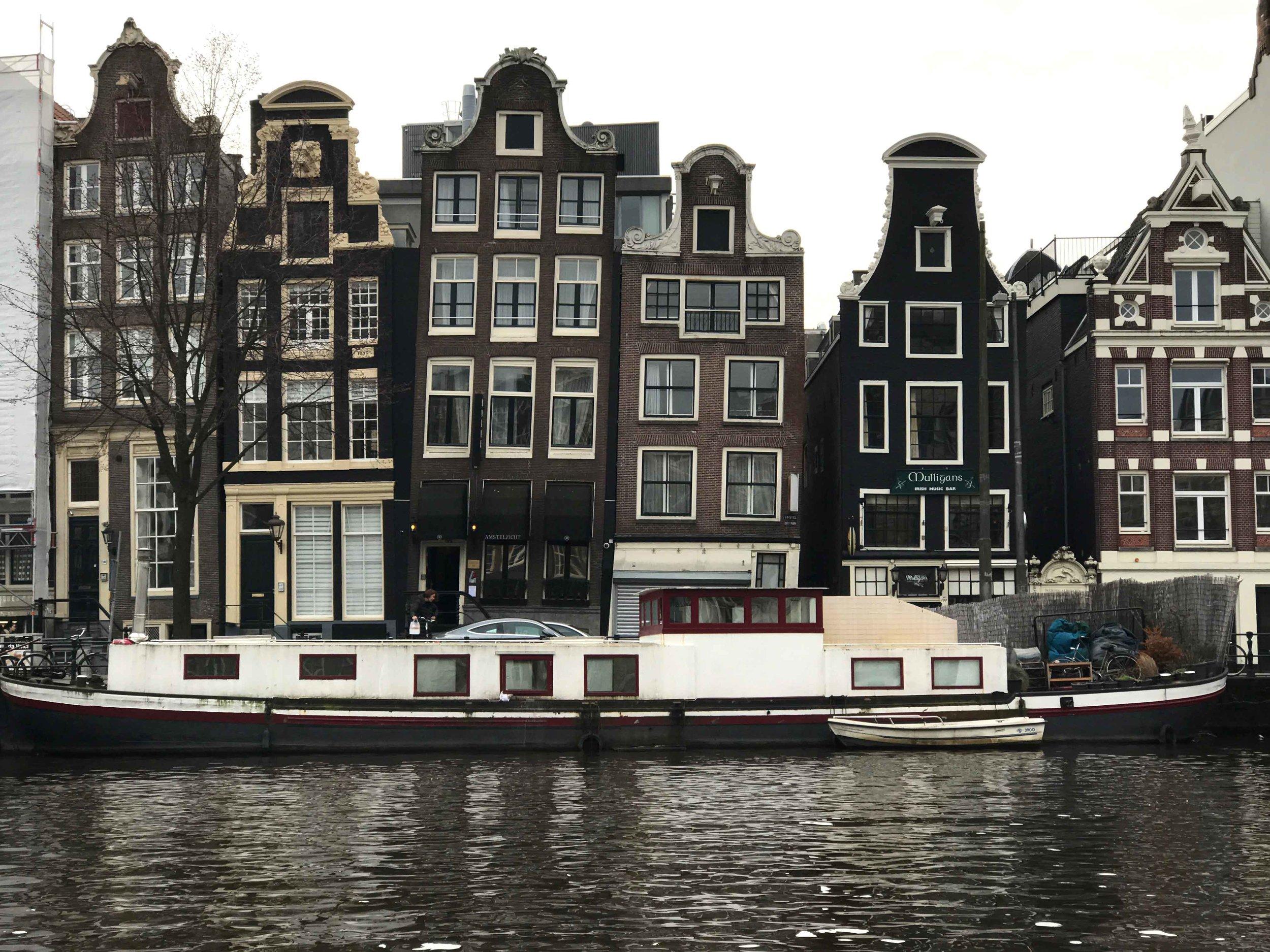 Dancing houses, Amsterdam. Image©thingstodot.com
