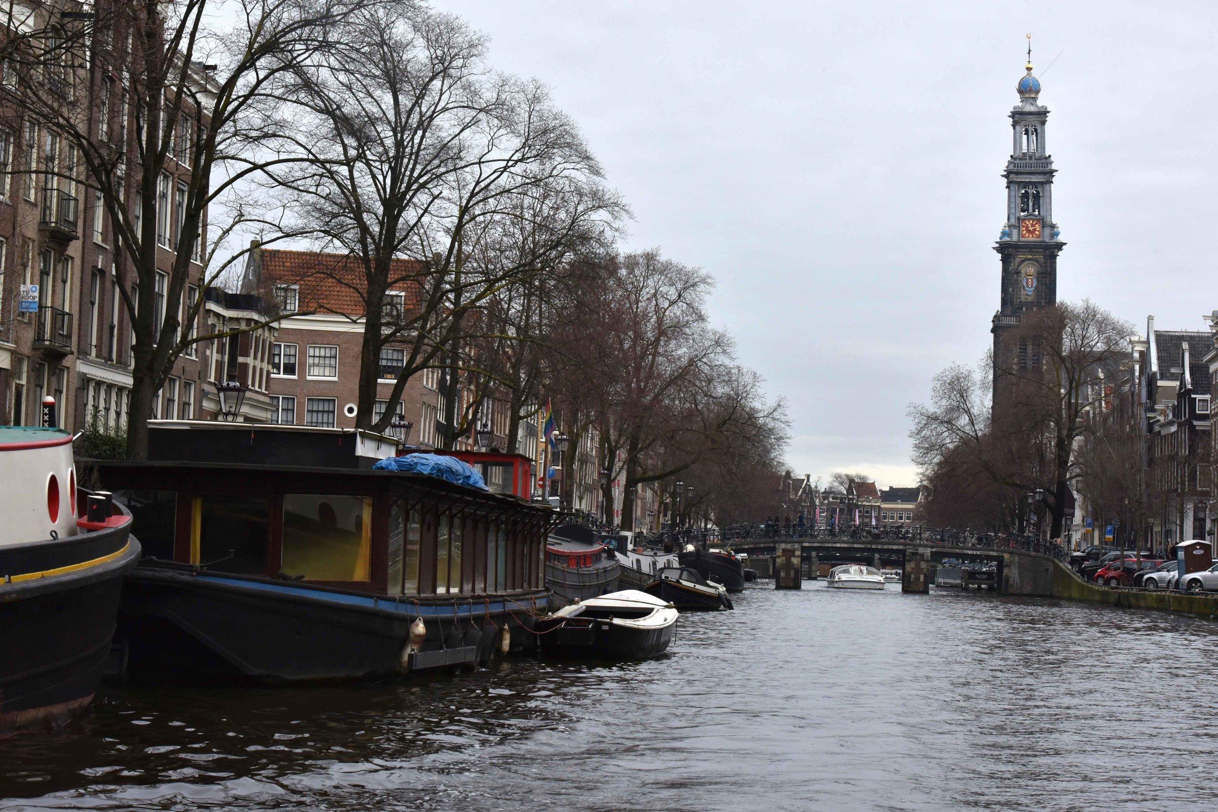 Houseboats,Amsterdam. Image©thingstodot.com