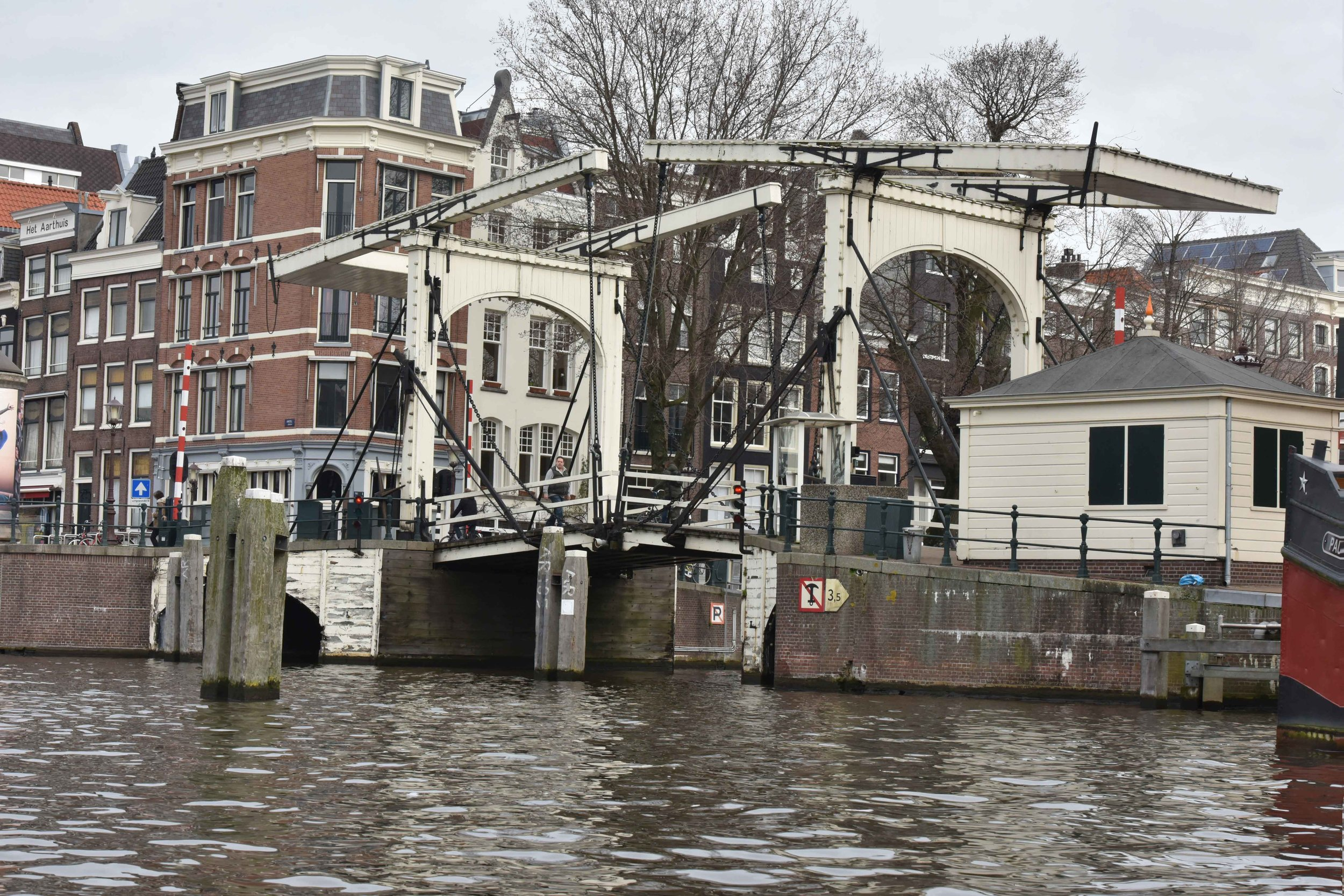The Skinny Bridge or the Magere Brug,Amsterdam. Image©thingstodot.com