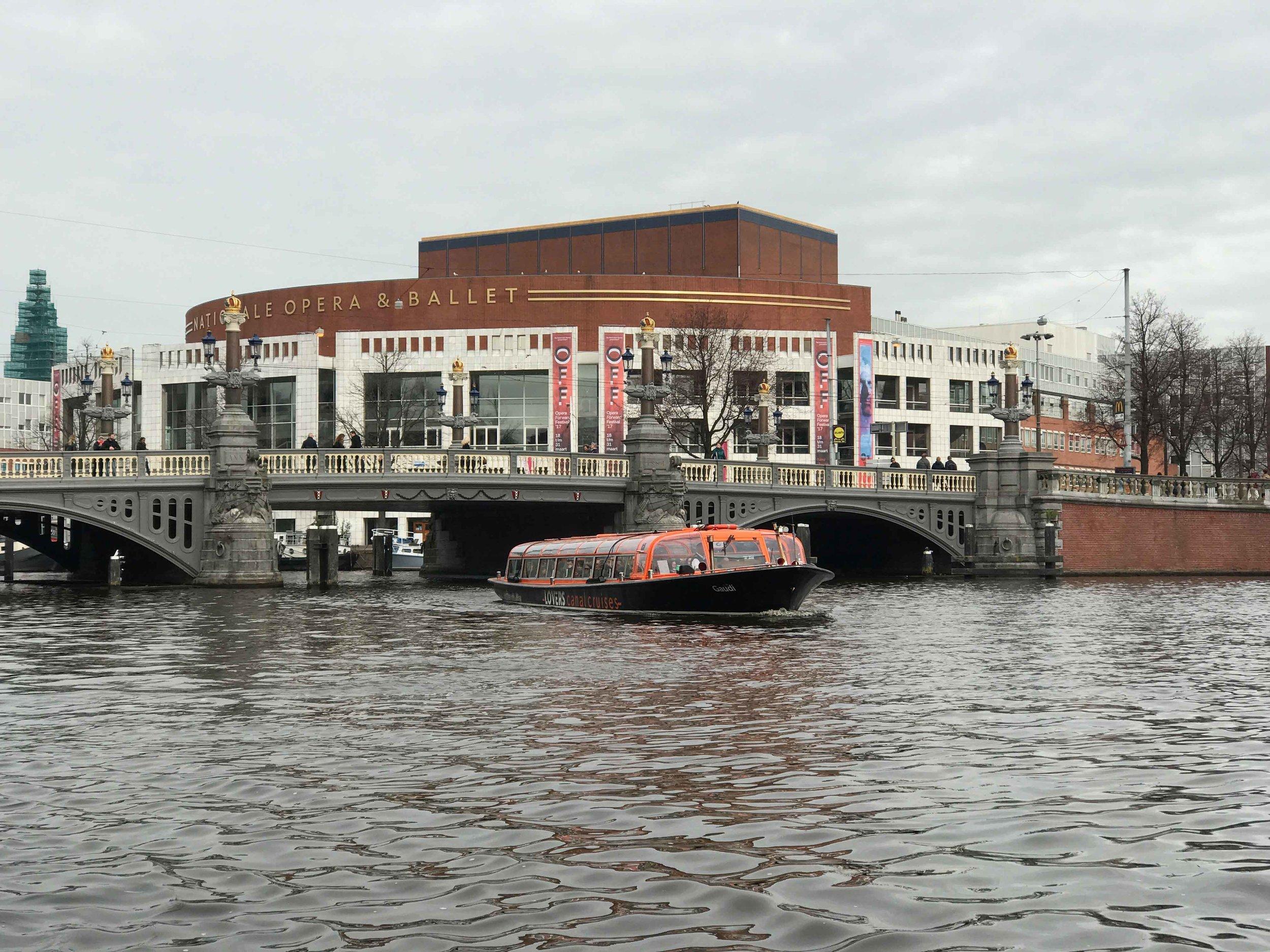 The Dutch National Opera & Ballet,Amsterdam. Image©thingstodot.com