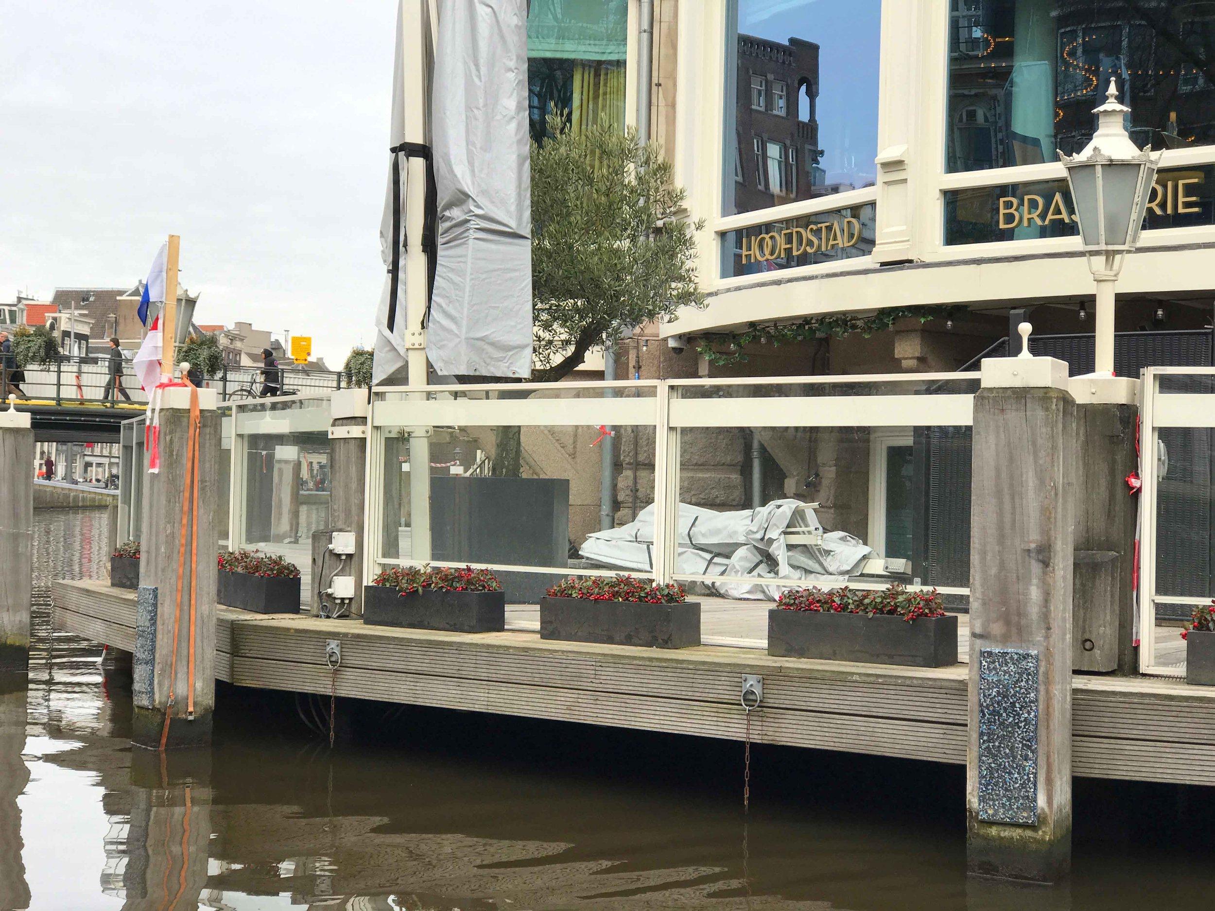 Hoofdstad Brasserie,Amsterdam. Image©thingstodot.com