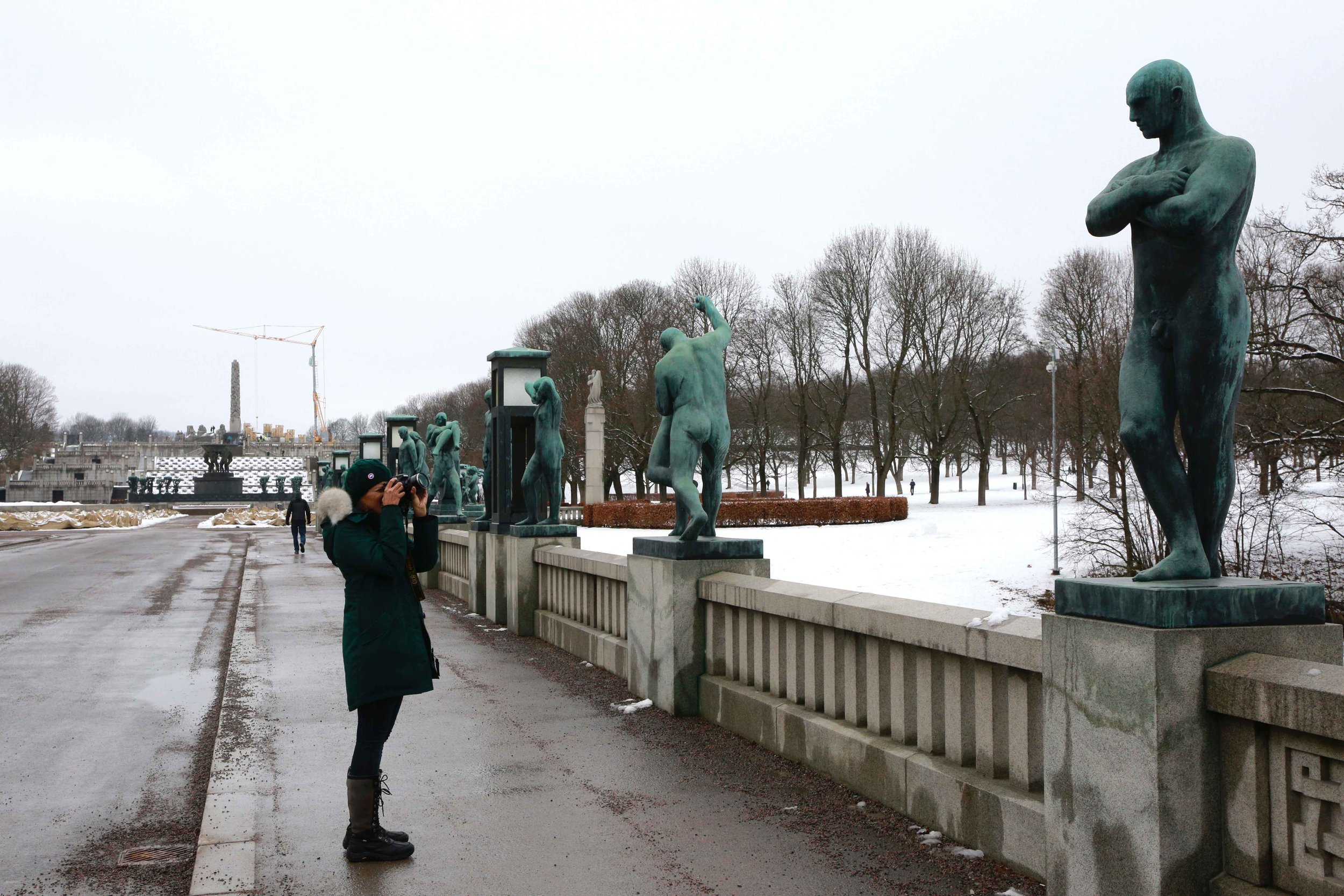 Vigeland Sculpture Park, Oslo, Norway. Photo: Oslo Photo Tour. Image©thingstodot.com