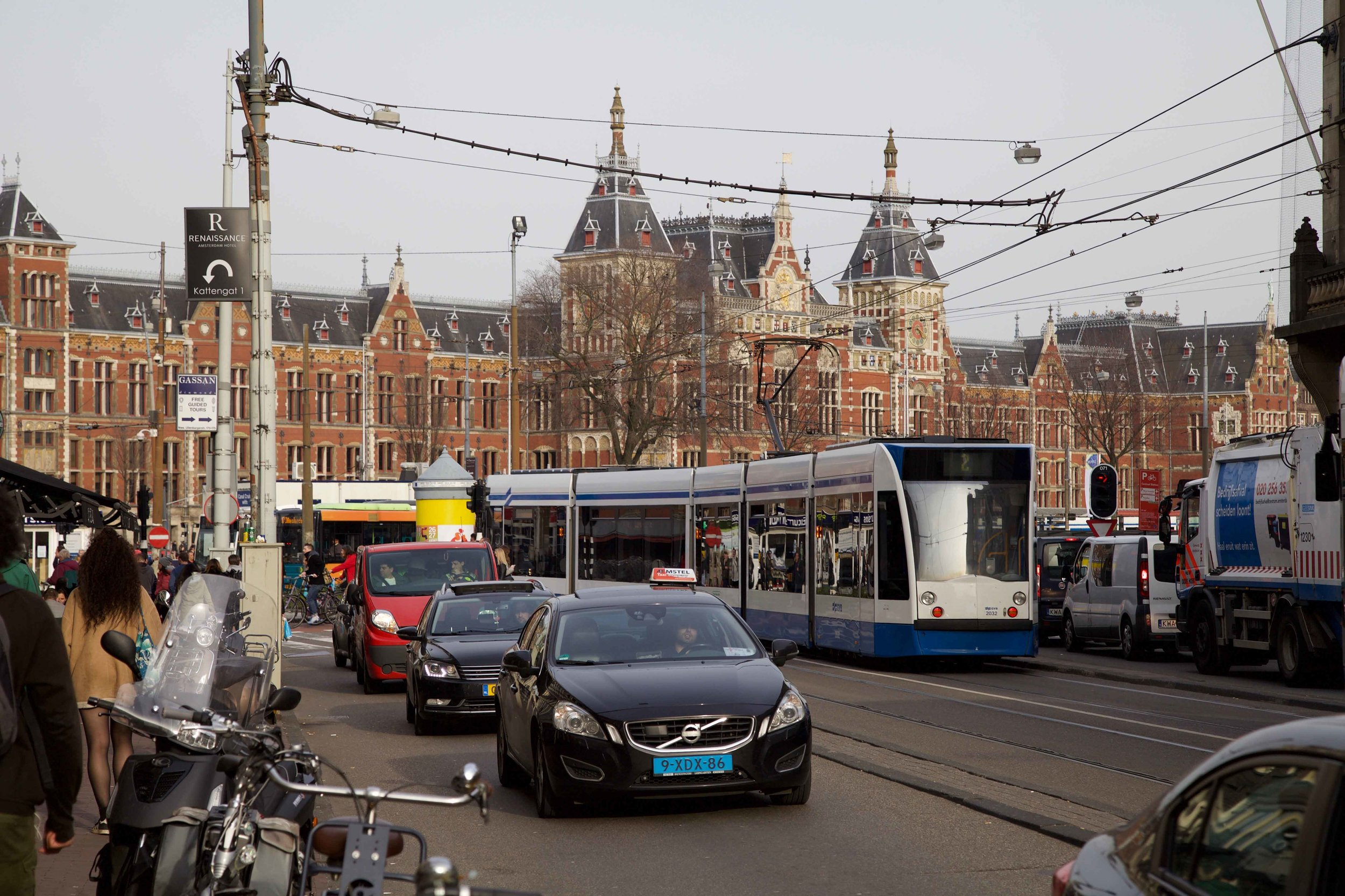 Amsterdam Centraal, train station, Amsterdam. Photo: Fabio Ricci. Image©thingstodot.com