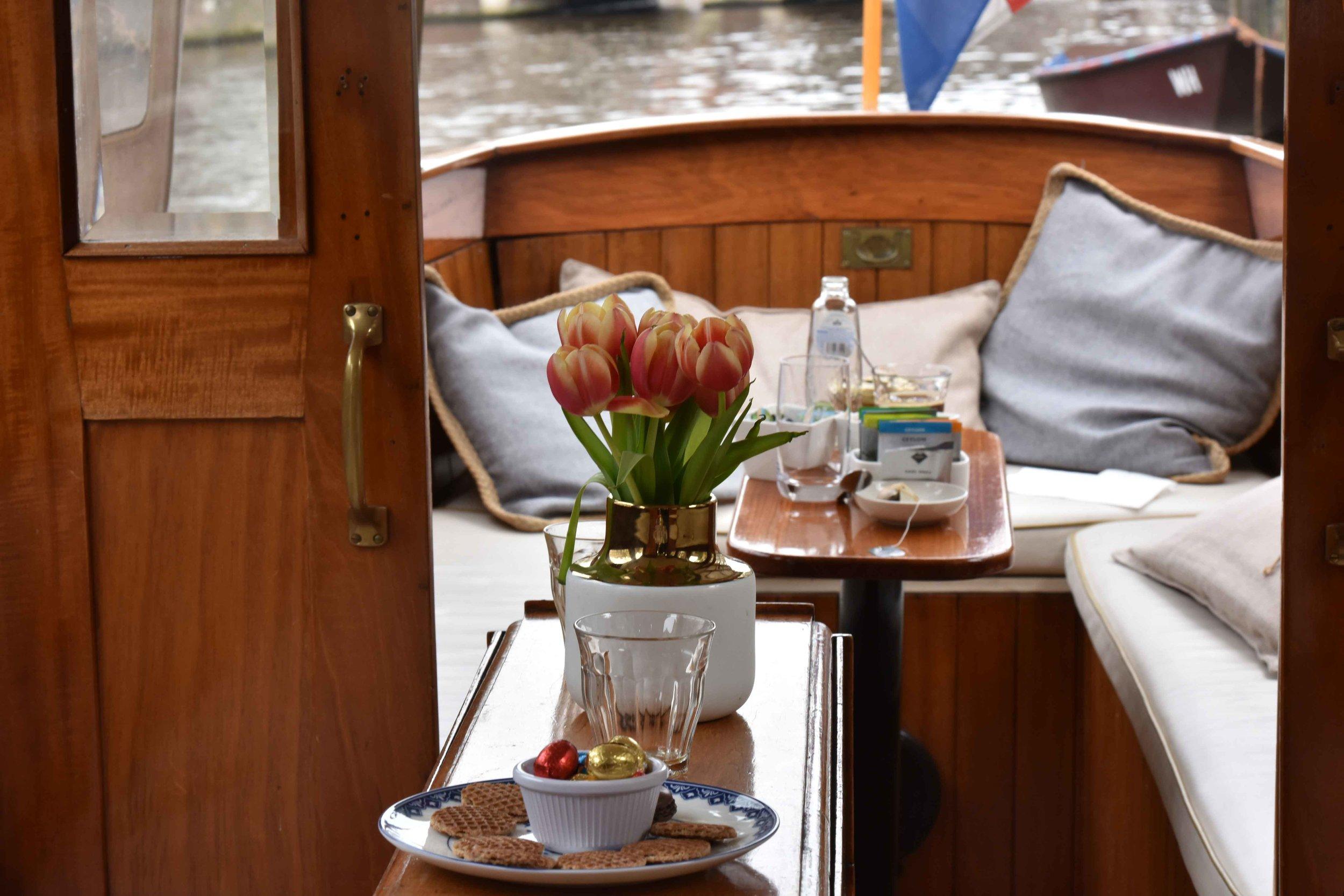 Grand Boat Tour,Sofitel Legend Amsterdam The Grand. Image©thingstodot.com