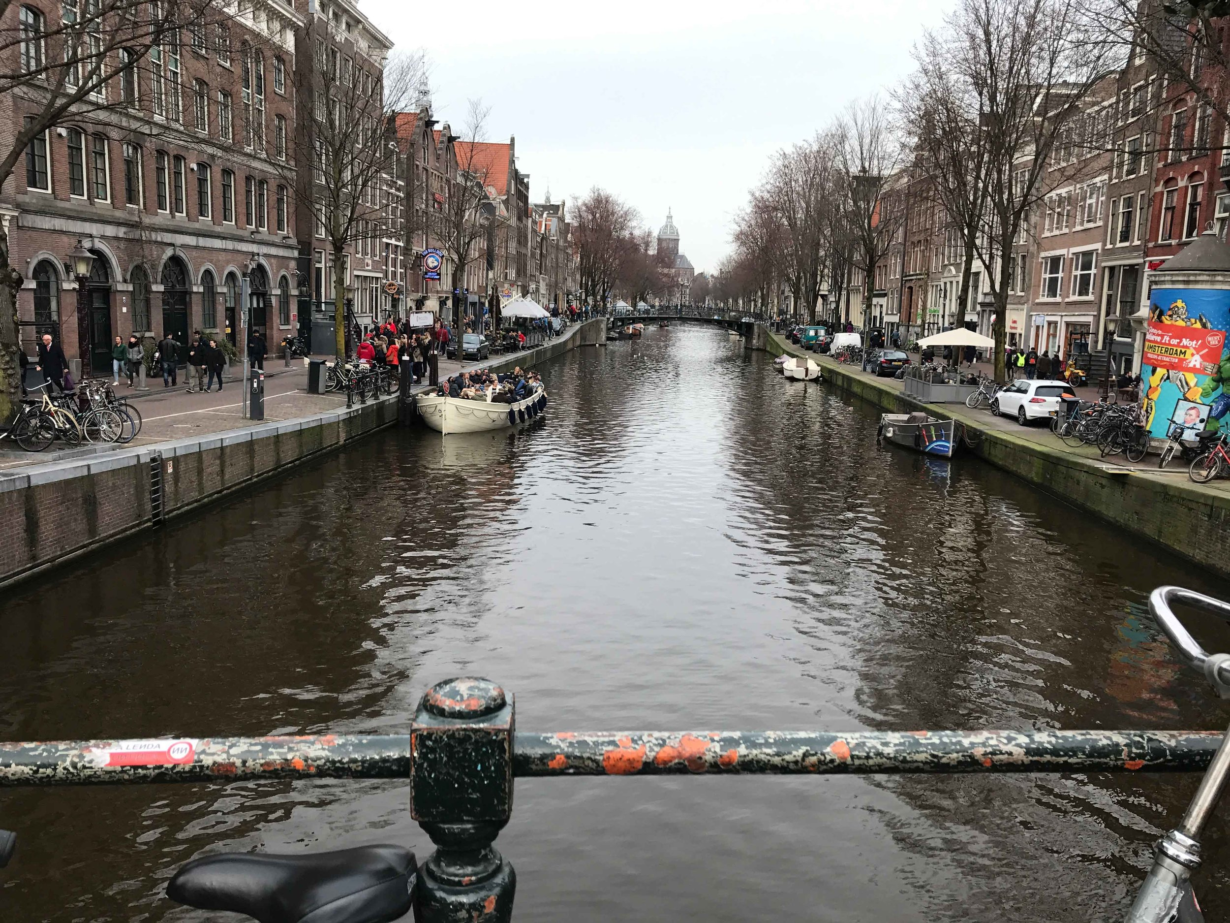 Oudezijds Voorburgwal / Red Light District, Amsterdam. Photo: Gunjan Virk. Image©thingstodot.com