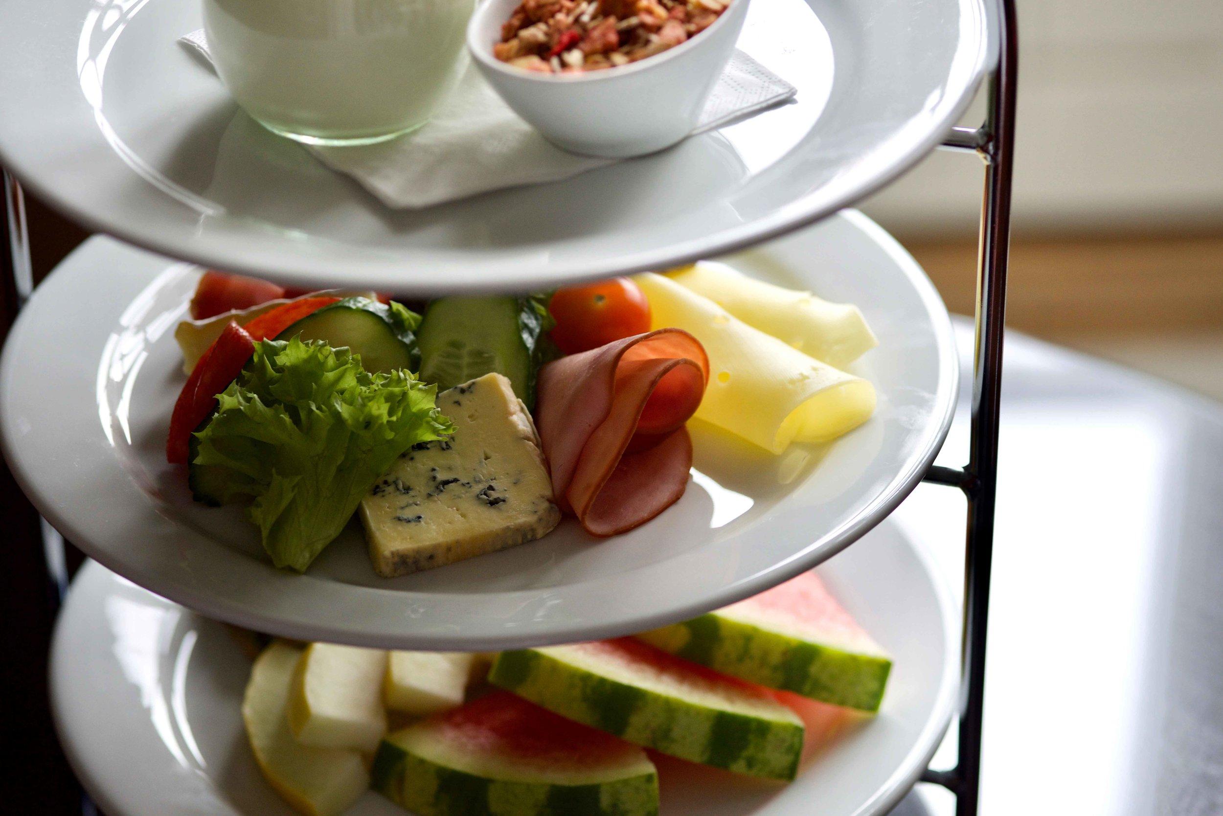 In Room Breakfast,Grand Hotel Oslo, Norway. Image©thingstodot.com