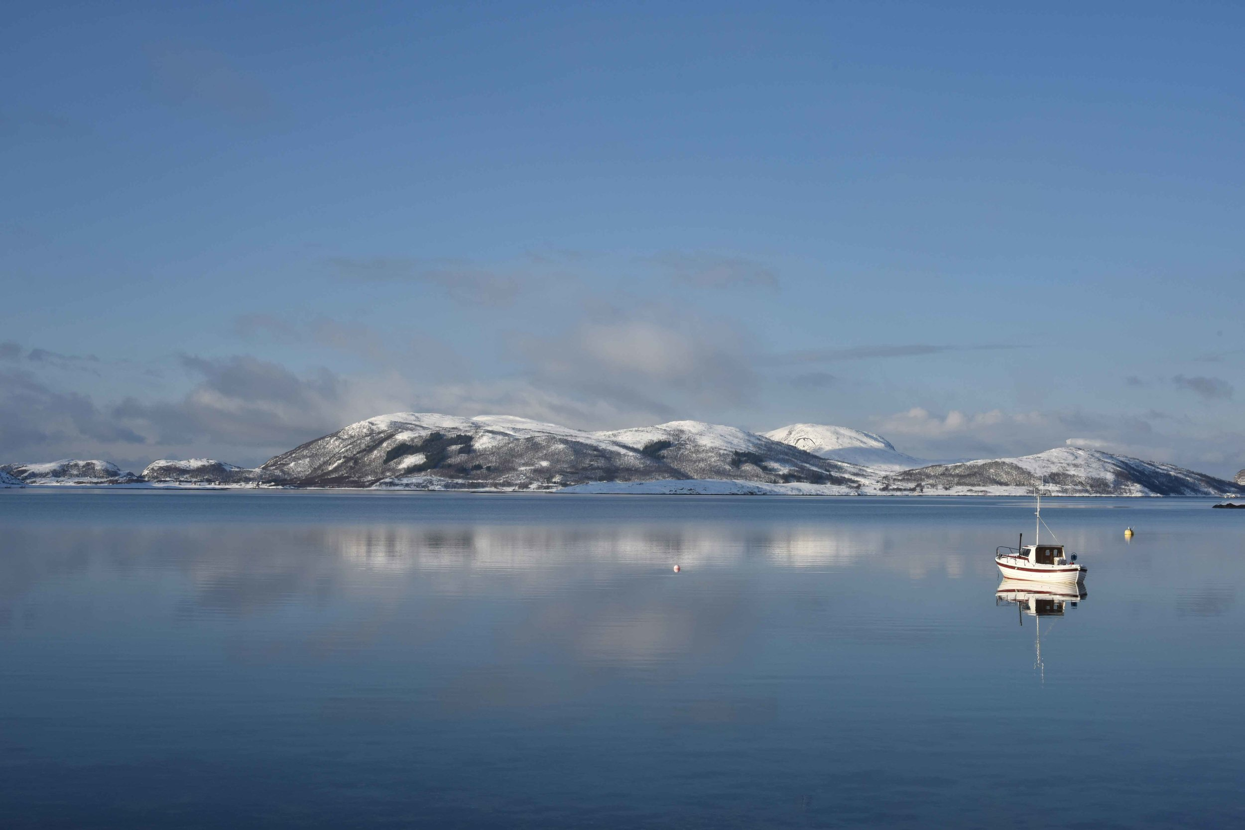Arctic scenery around Sommarøy, near Tromso, Norway. Image©thingstodot.com