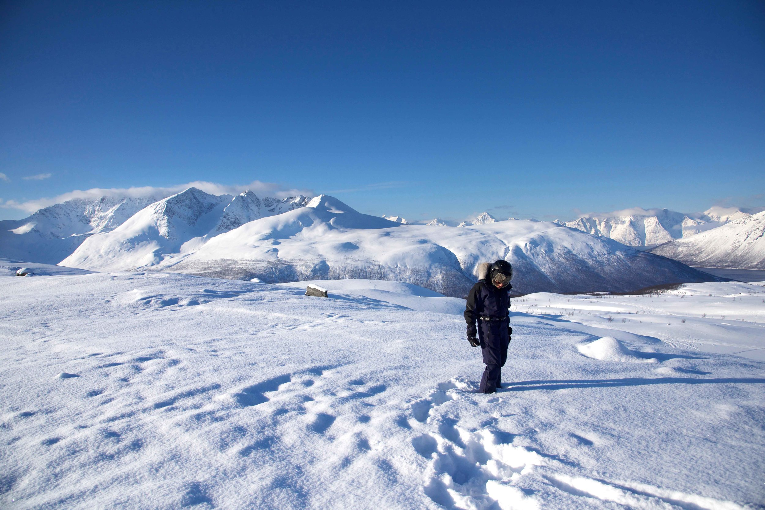 Mountains in the Arctic Circle, Norway. Image©thingstodot.com