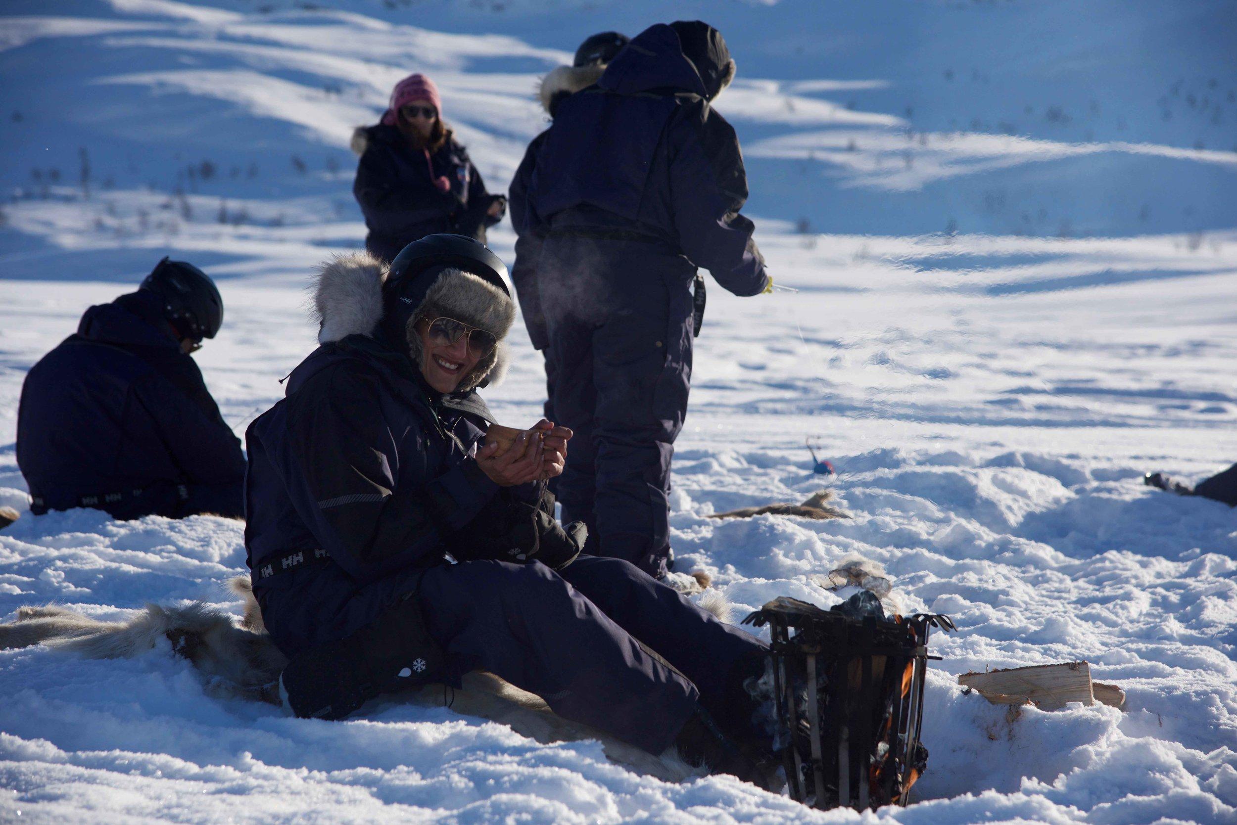 high frozen lakes, Arctic Circle, Norway. Image©thingstodot.com
