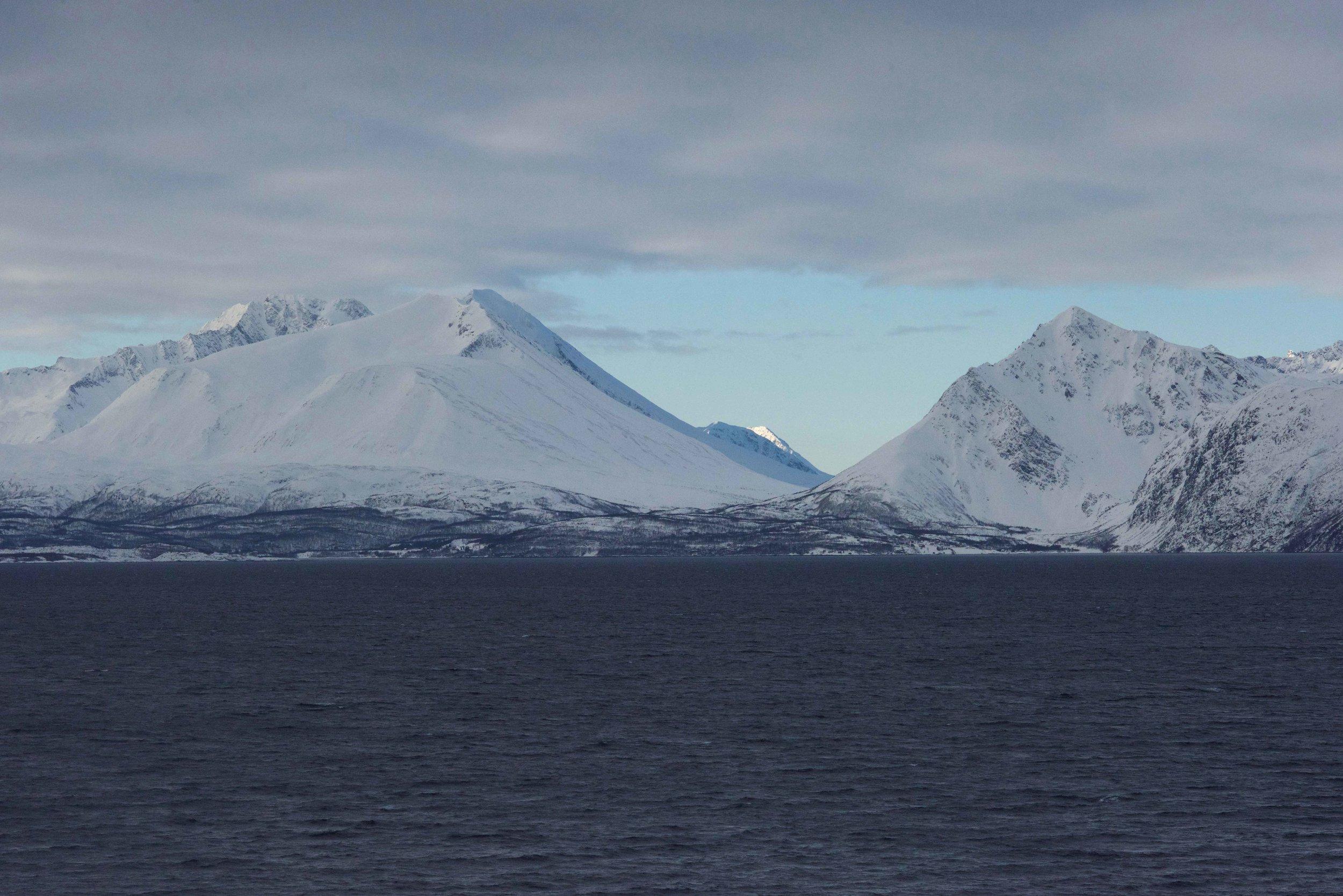 Norwegian fjords,Lyngen, Arctic Circle, Norway. Image@thingstodot.com