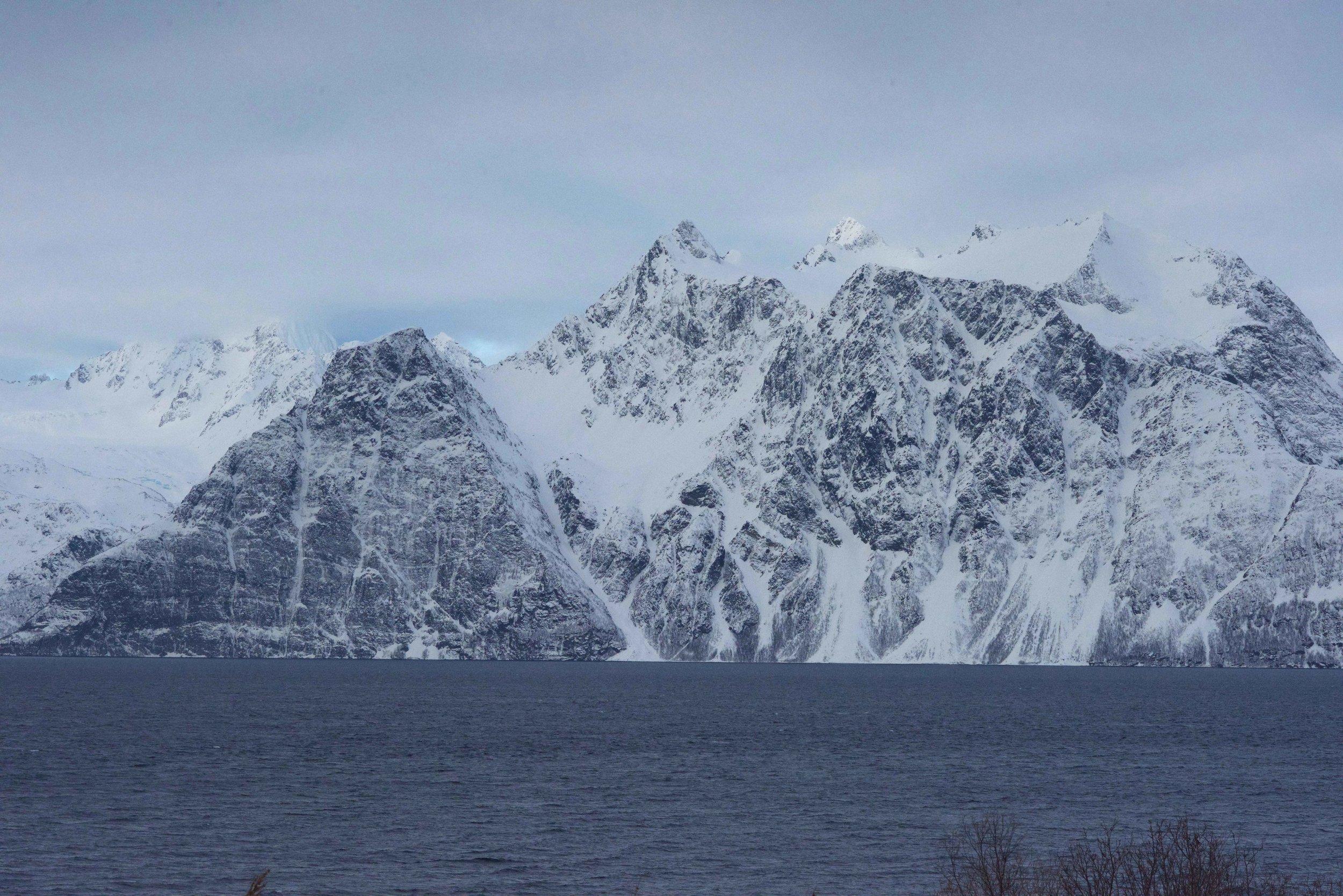 Norwegian fjords, Lyngen,Lyngen Lodge, Arctic Circle, Norway. Image@thingstodot.com