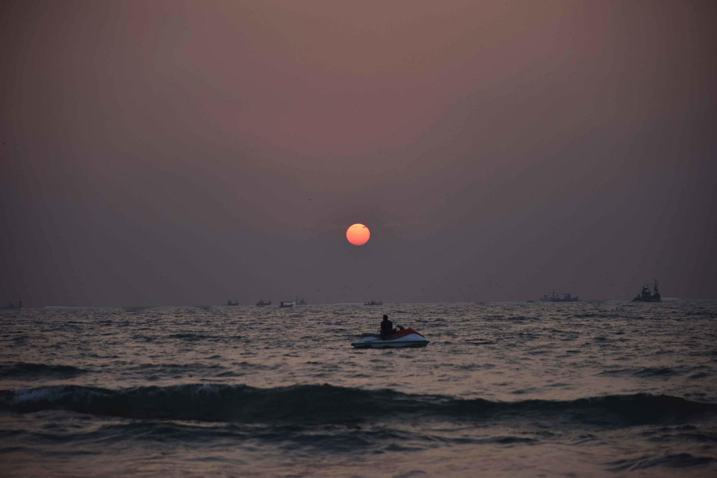 Arabian Sea, sunset time, Goa, India. Image©thingstodot.com