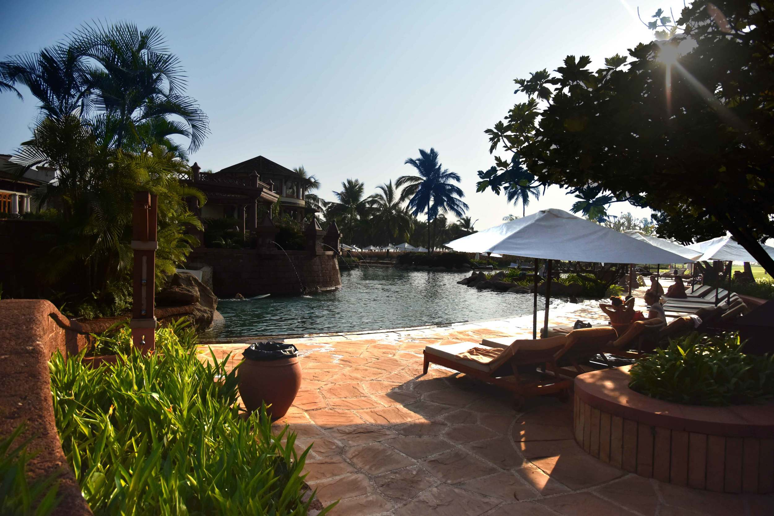Sun bathing,Park Hyatt, Goa, India, 5 star hotel, luxury beach resort, spa. Image©thingstodot.com
