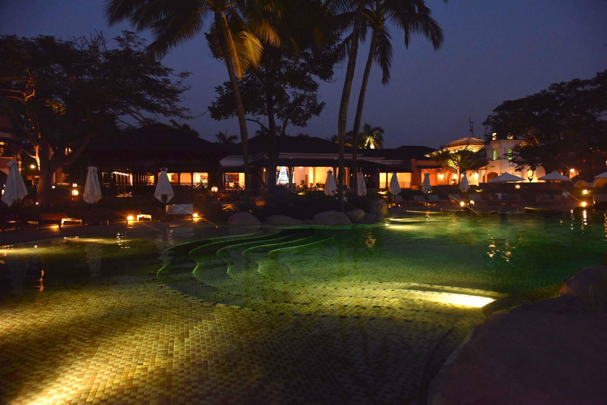 Outdoor pool,Park Hyatt, Goa, India, 5 star hotel, luxury beach resort, spa. Image©thingstodot.com