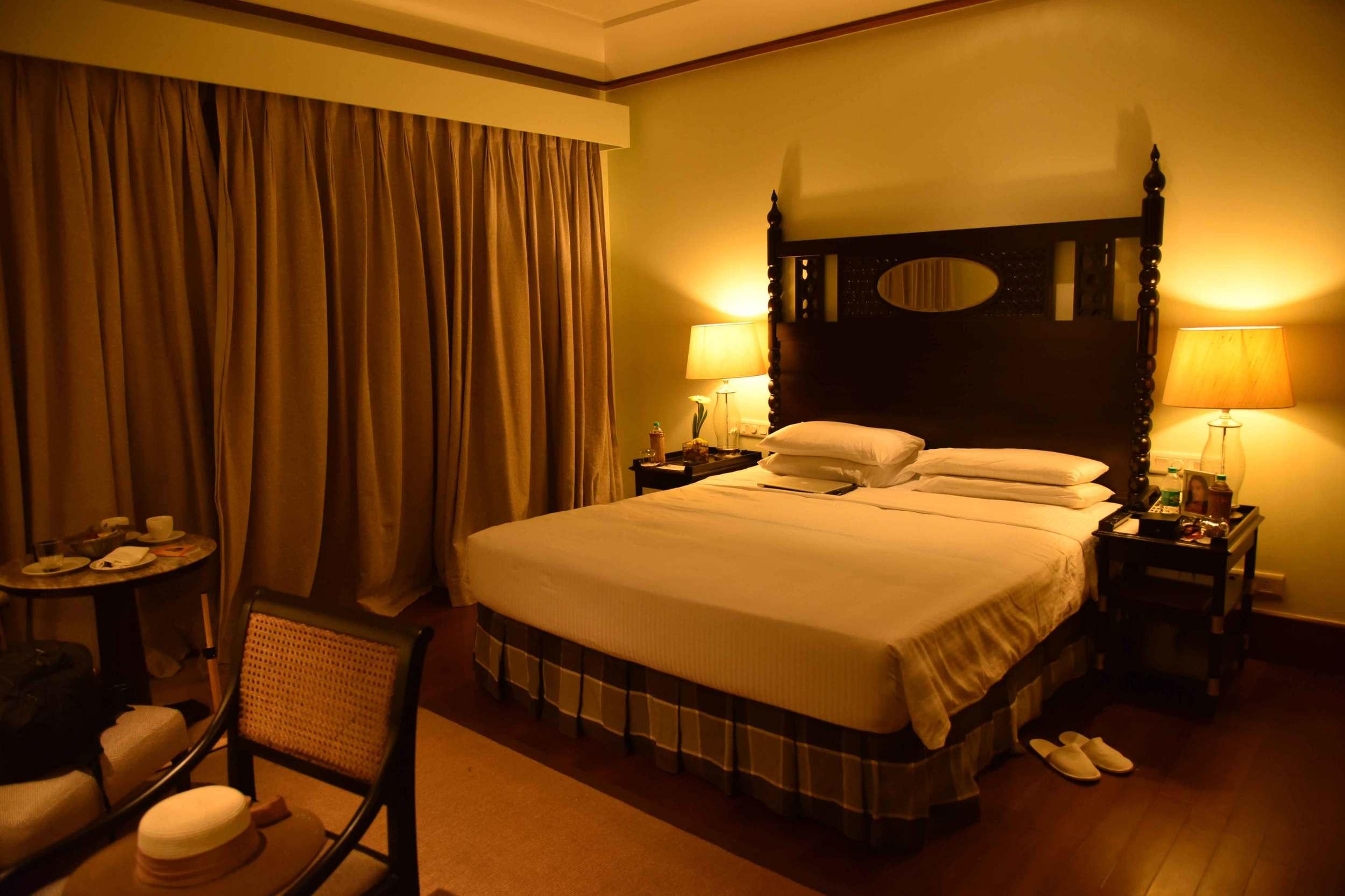 Guest room,Park Hyatt, Goa, India, beach resort, luxury spa resort. Image©thingstodot.com