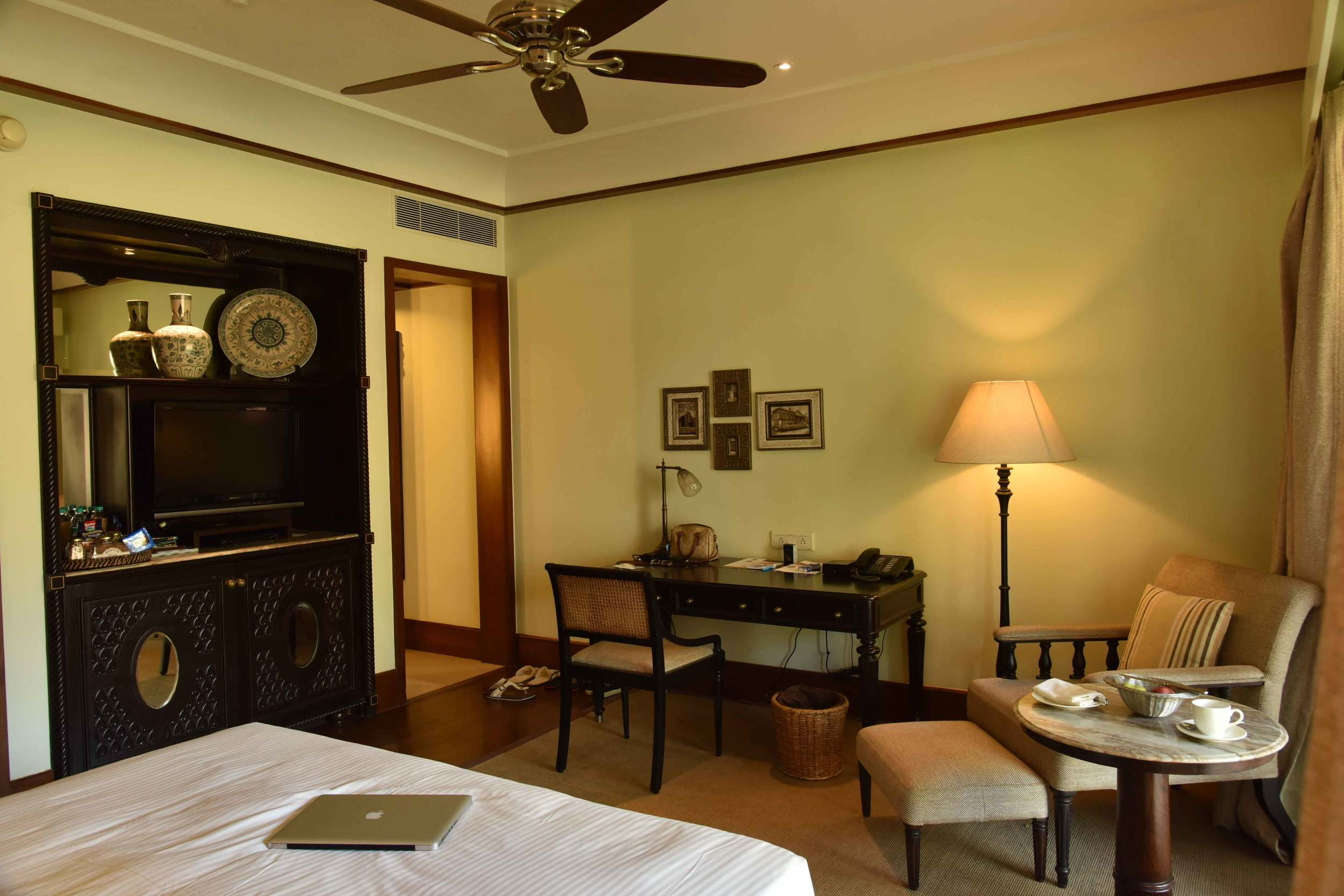 Guest room, Park Hyatt, Goa, India, beach resort, luxury spa resort. Image©thingstodot.com