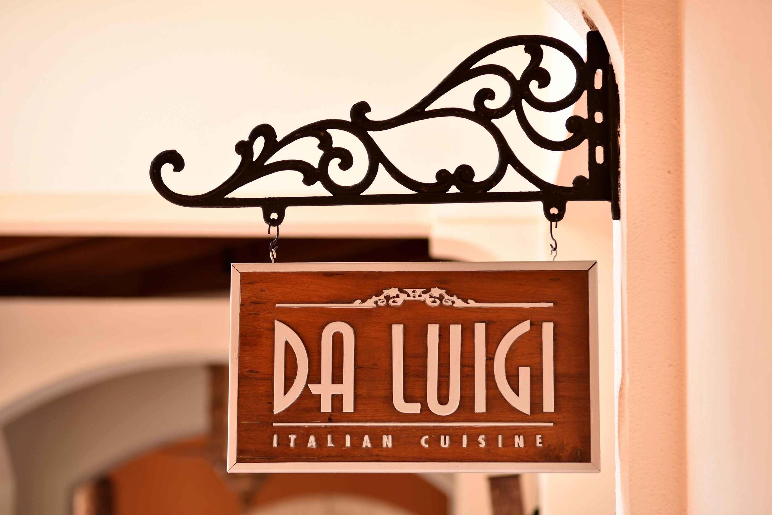 Italian trattoria,Da Luigi, Park Hyatt, beach resort, Goa, India. Image©thingstodot.com