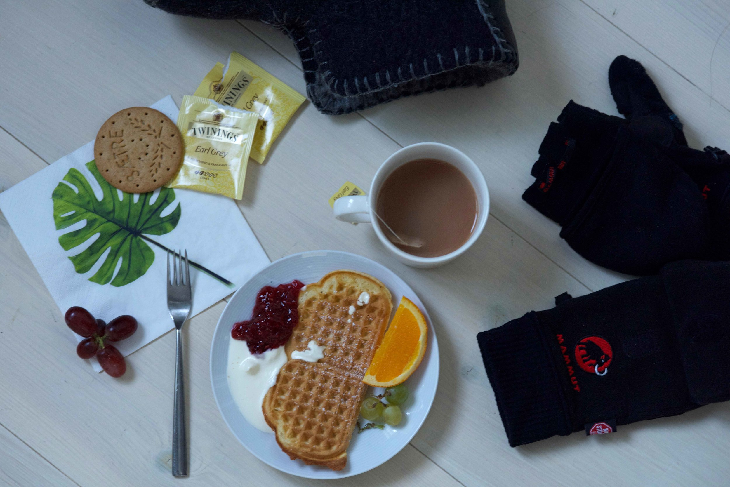 Afternoon tea,Lyngen Lodge, Arctic Circle, Norway. Image@thingstodot.com