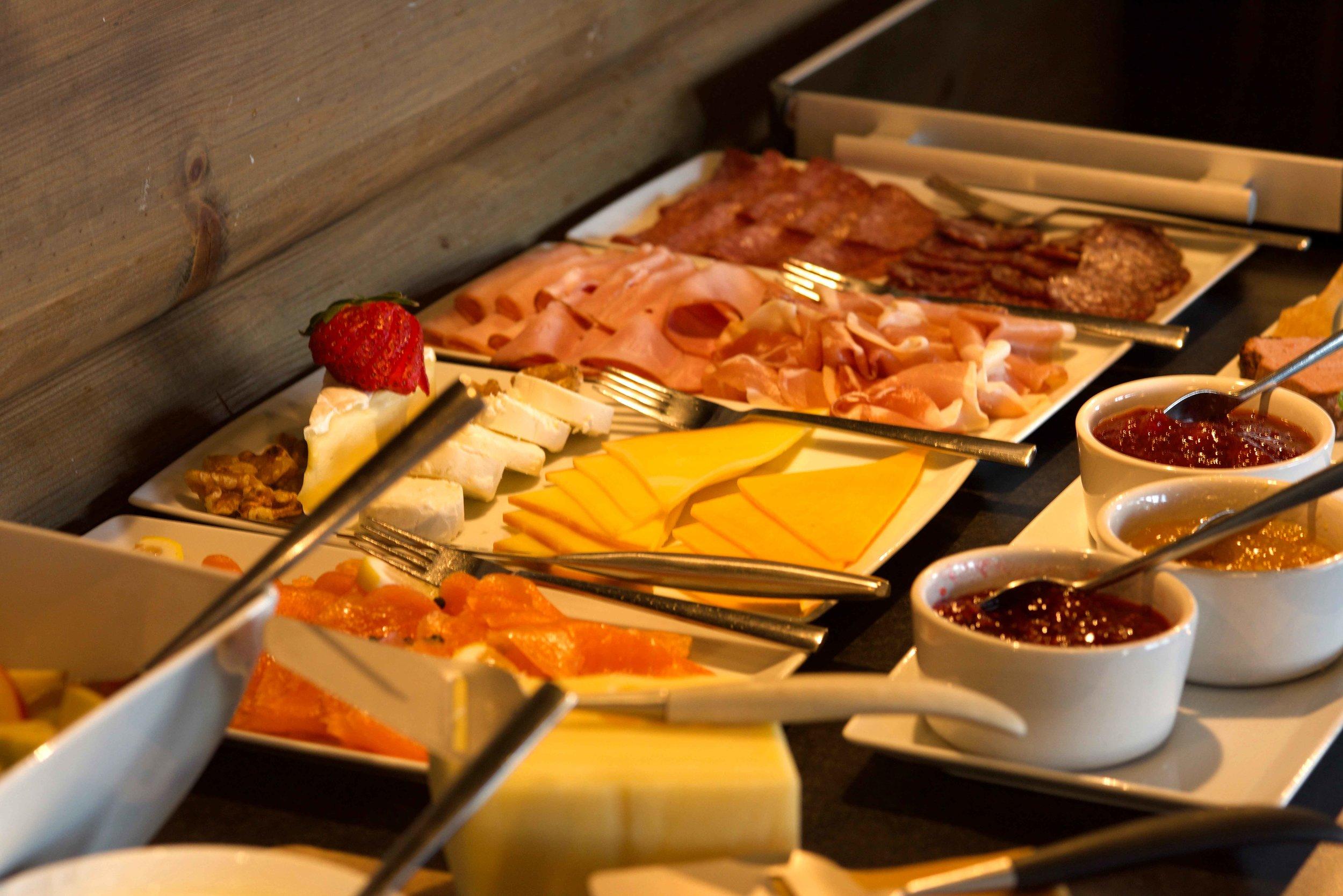 Breakfast at Lyngen Lodge, Arctic Circle, Norway. Image@thingstodot.com