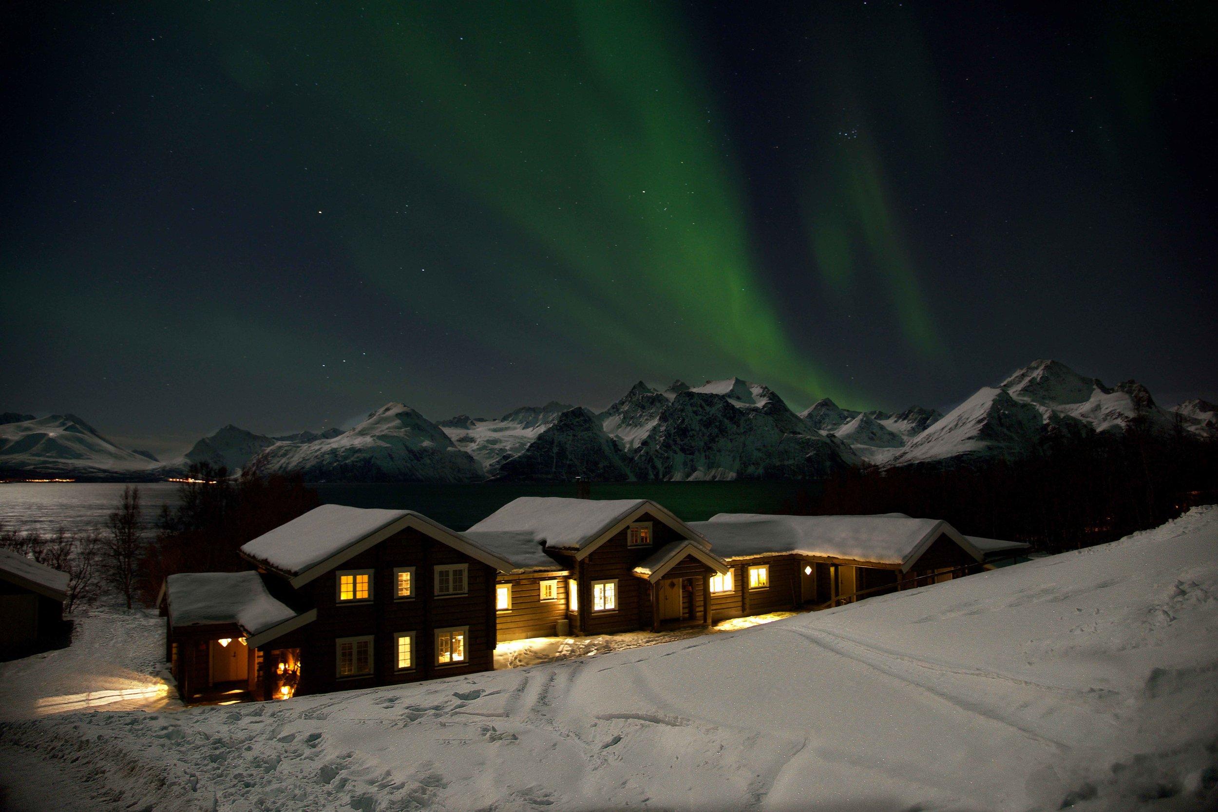 Lyngen Lodge, Arctic Circle, Norway. Image@thingstodot.com
