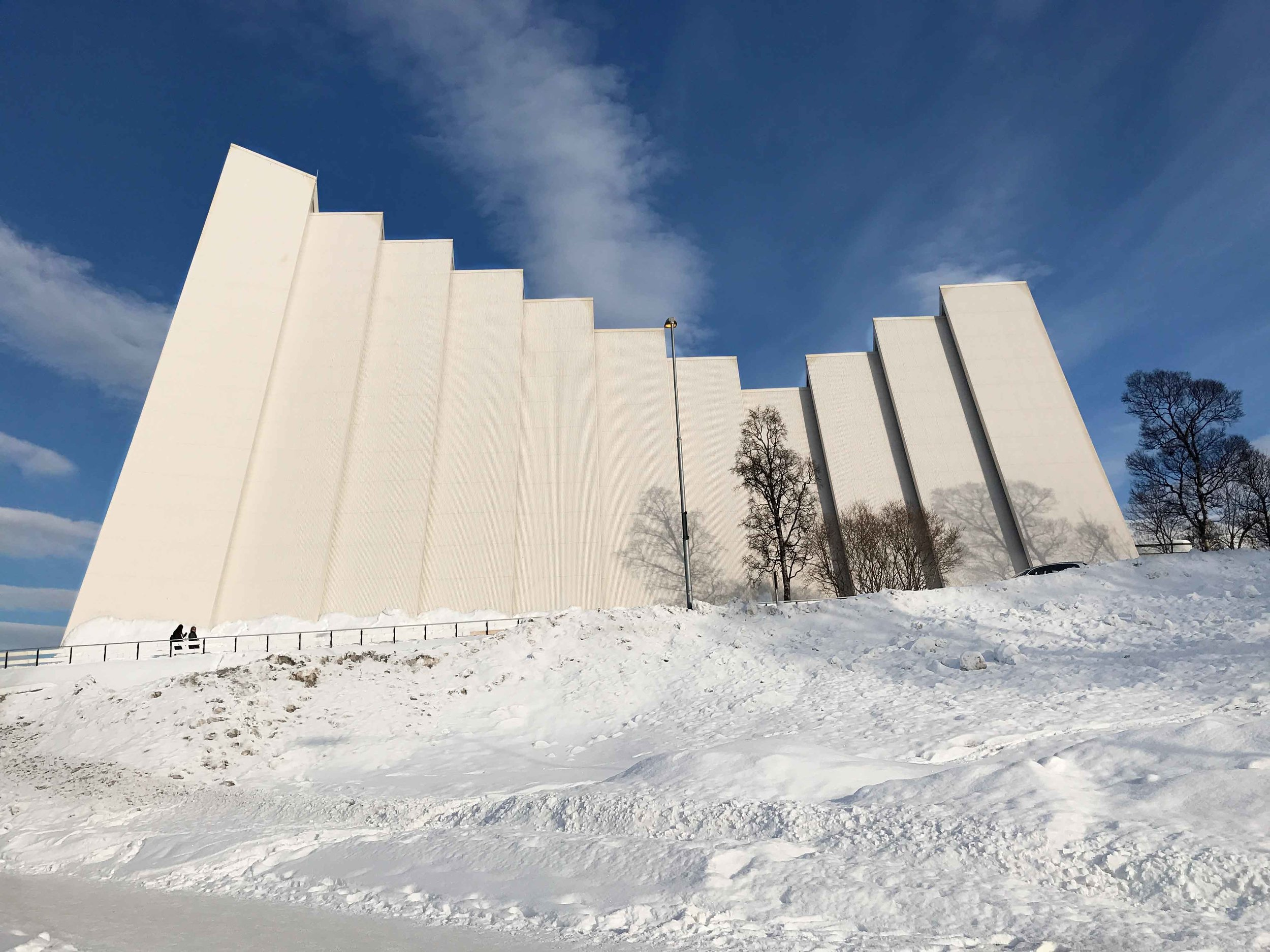 Arctic Church, Tromso, Norway. Image©thingstodot.com