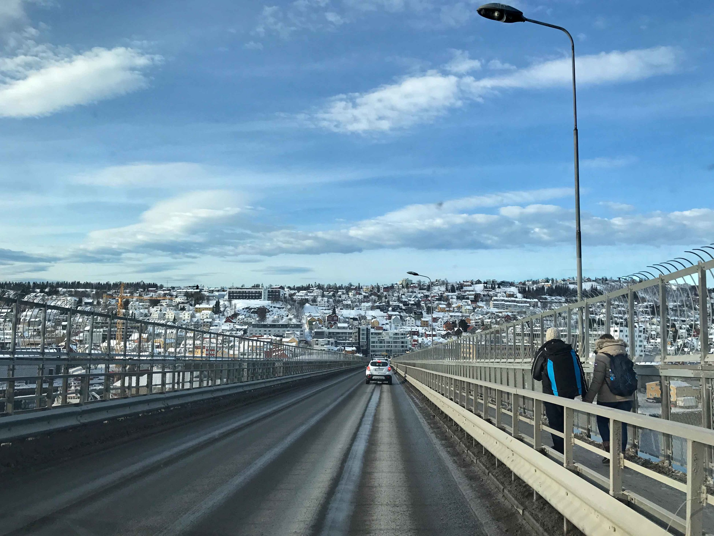 Bridge in Tromso, Norway. Image©thingstodot.com