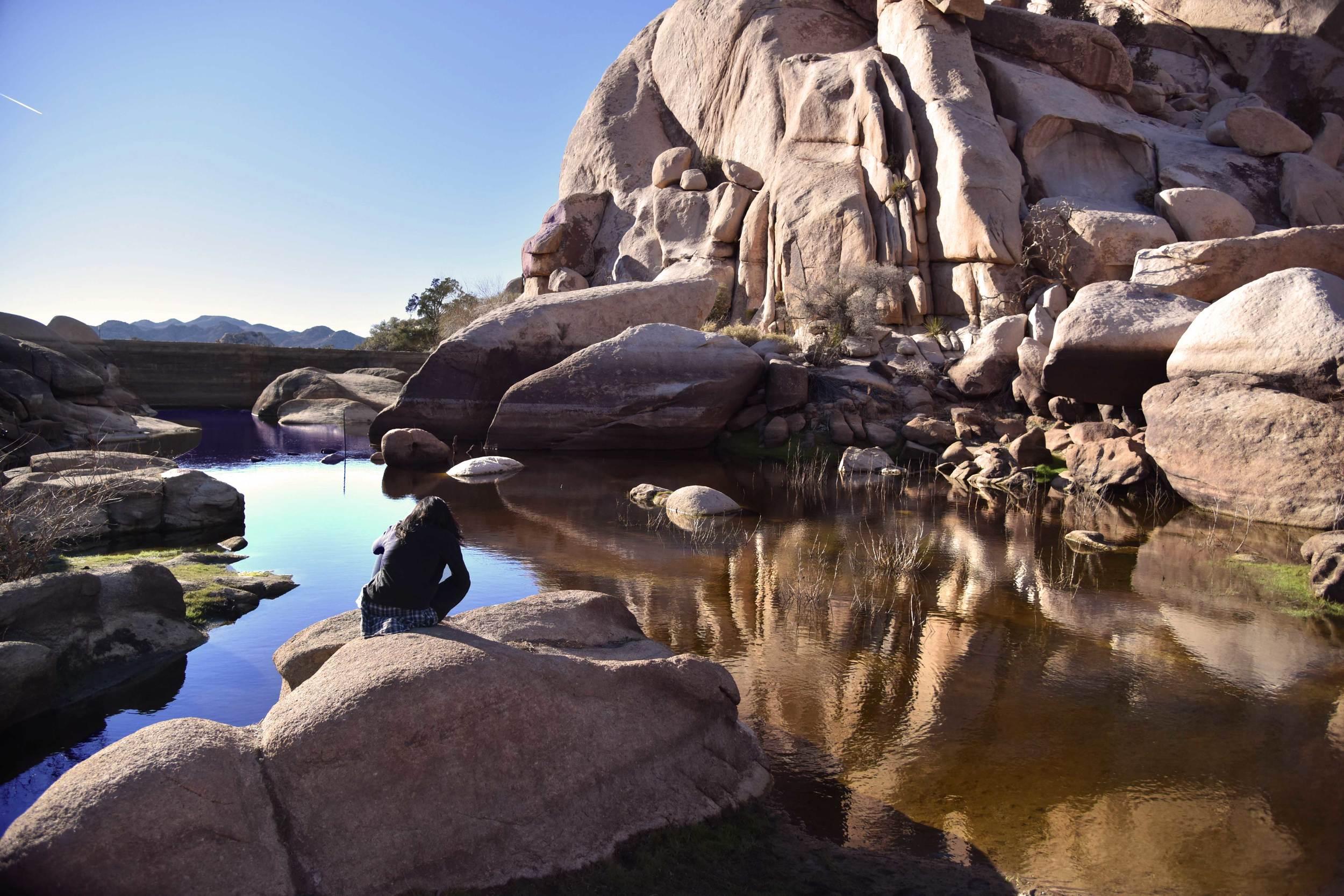 Barker Dam,Joshua Tree National Park, Southern California, USA. Image©thingstodot.com